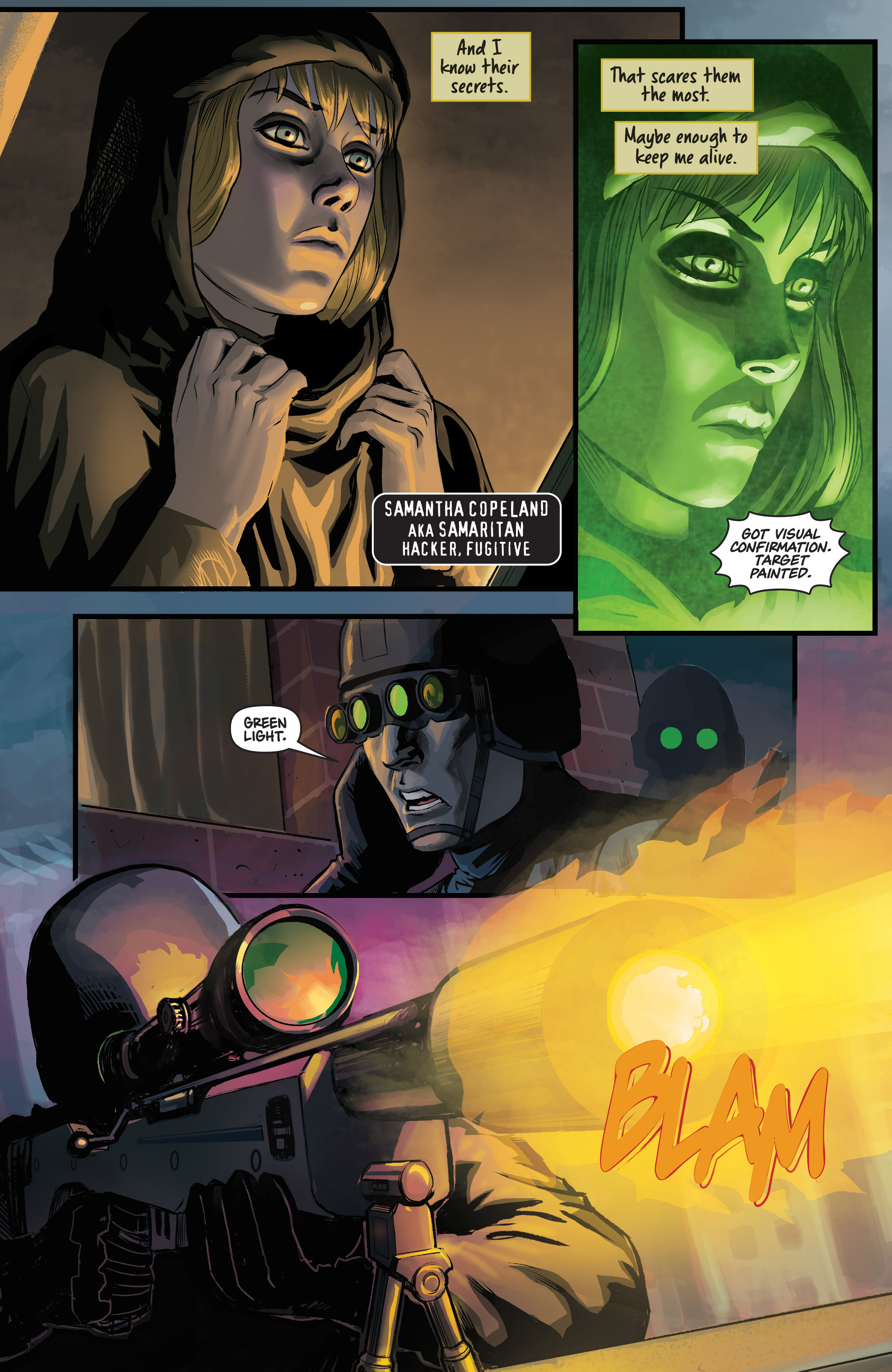 Read online Samaritan: Vertias comic -  Issue #1 - 5