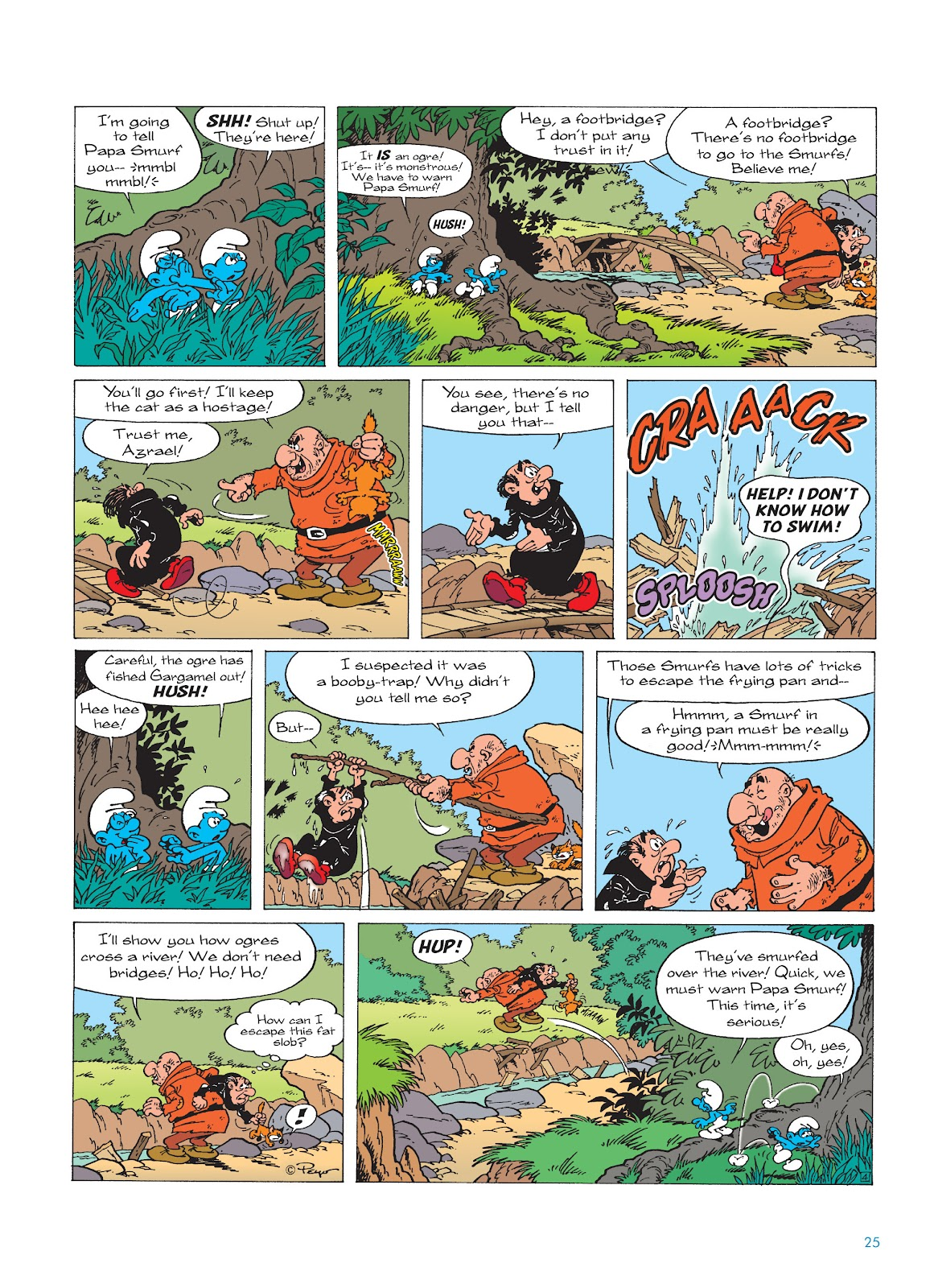 Read online The Smurfs comic -  Issue #17 - 25