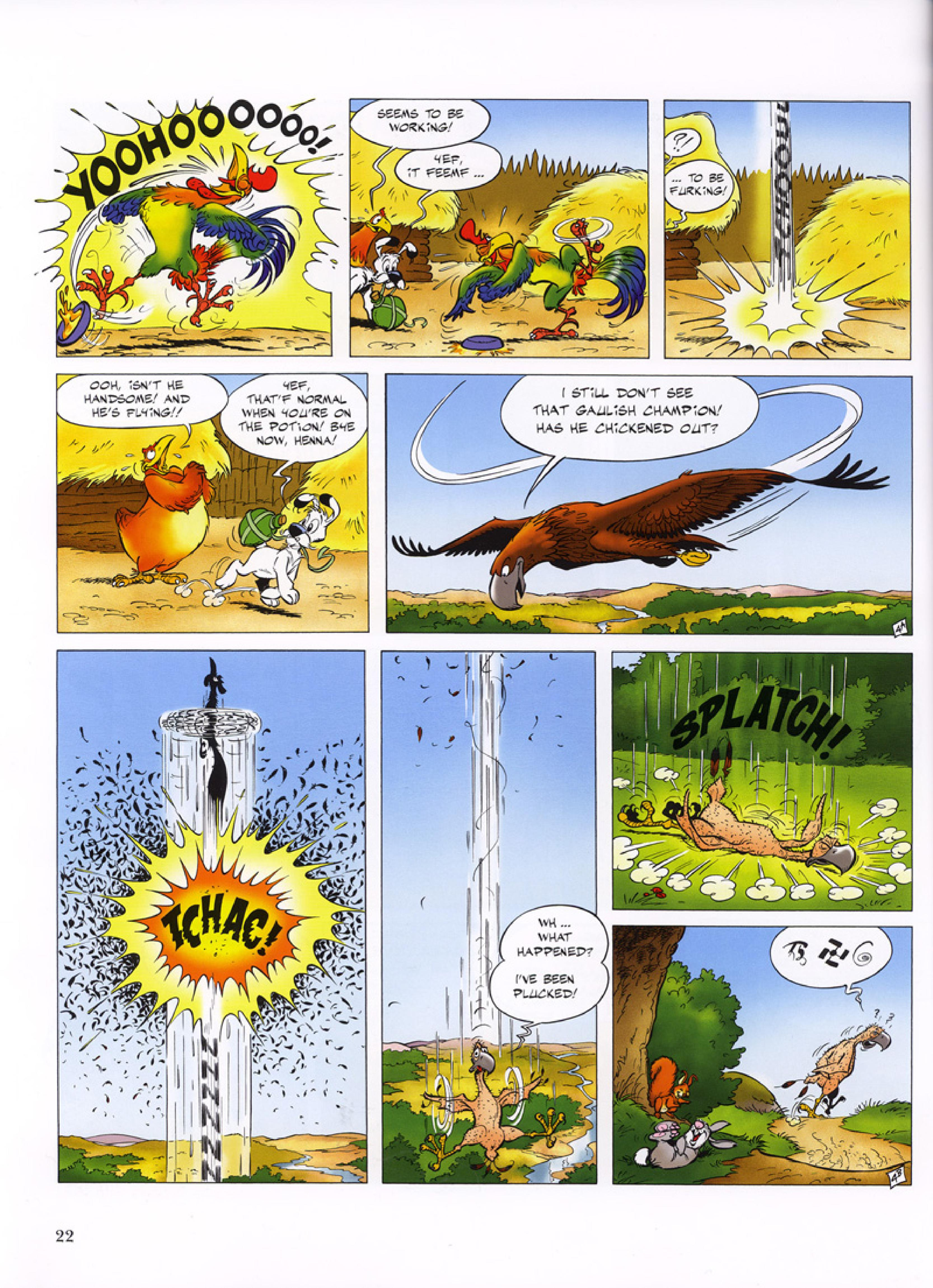 Read online Asterix comic -  Issue #32 - 23