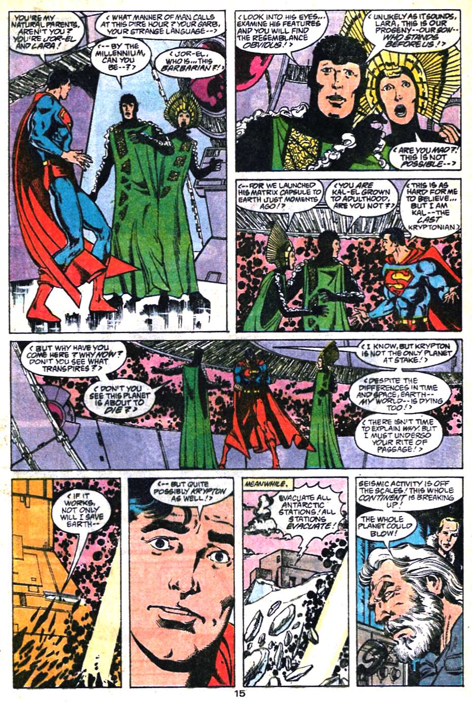 Read online Adventures of Superman (1987) comic -  Issue #461 - 16
