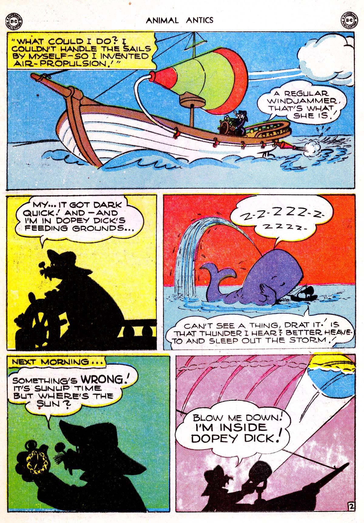 Read online Animal Antics comic -  Issue #1 - 28