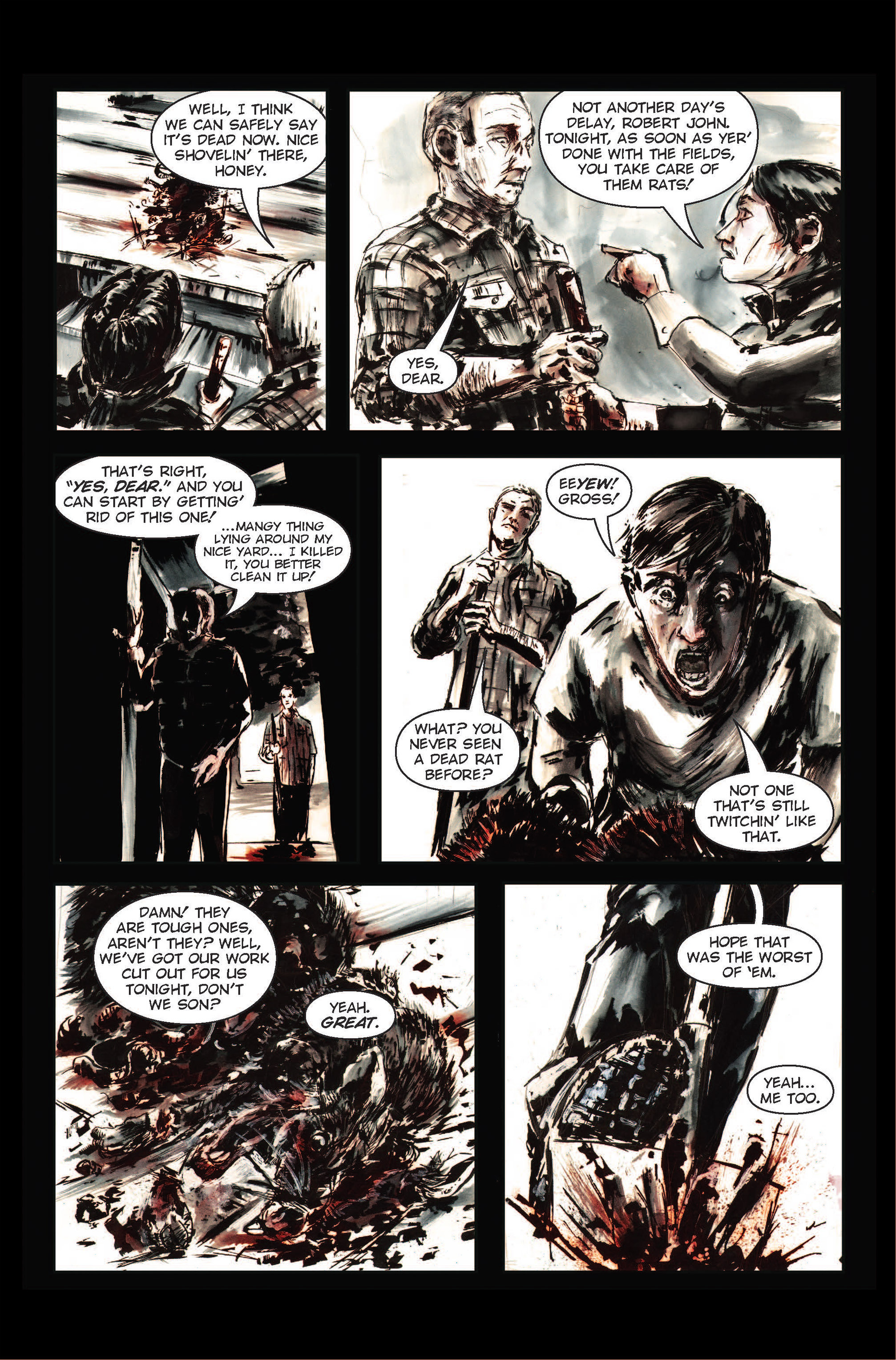 Read online The Final Plague comic -  Issue #1 - 8