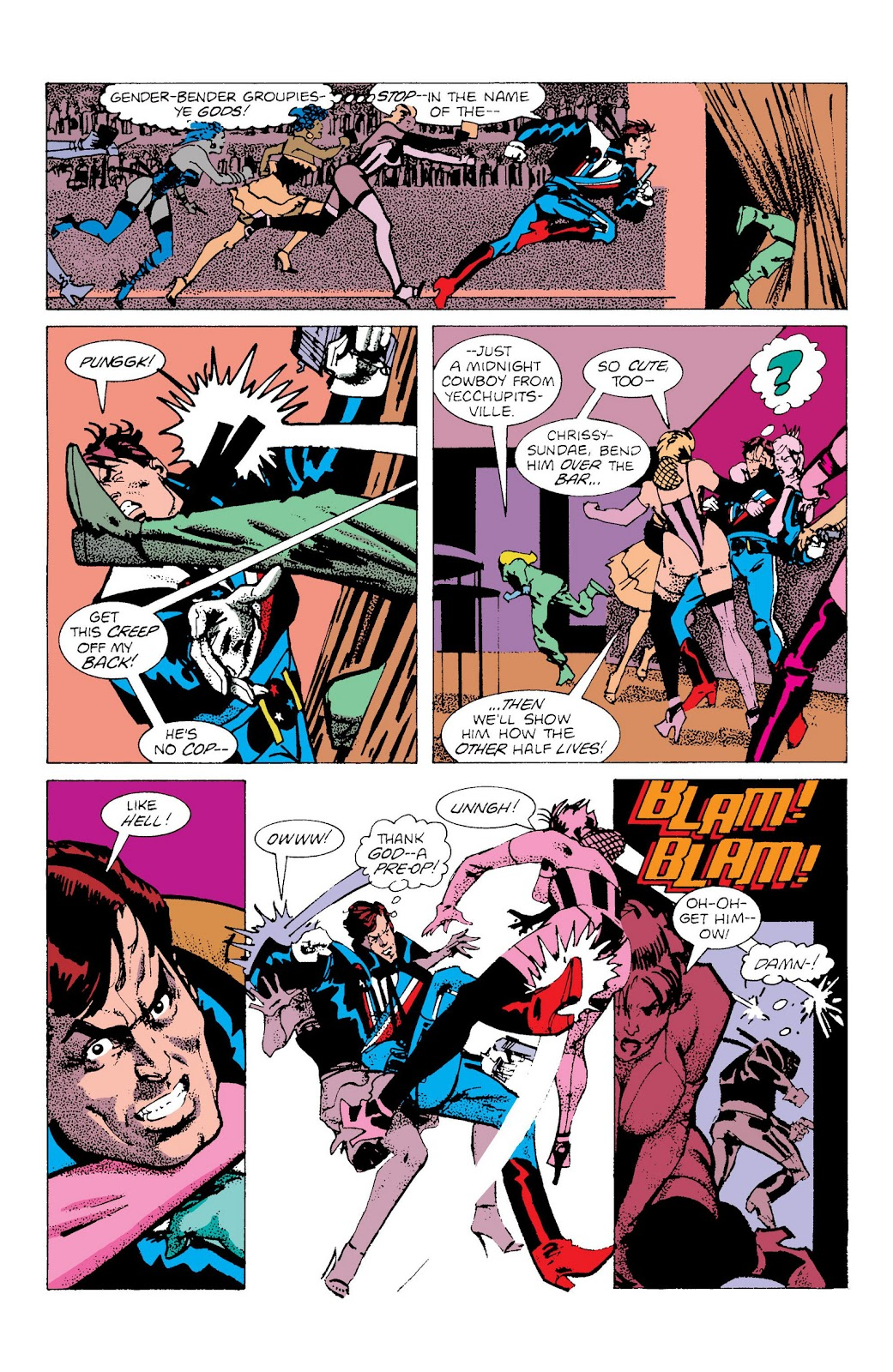 American Flagg! issue Definitive Collection (Part 2) - Page 96