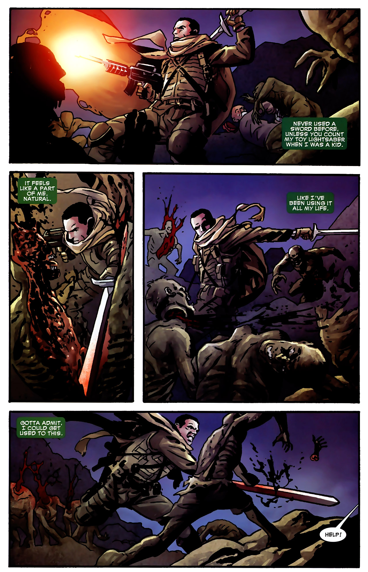 Read online Dead of Night Featuring Devil-Slayer comic -  Issue #3 - 6