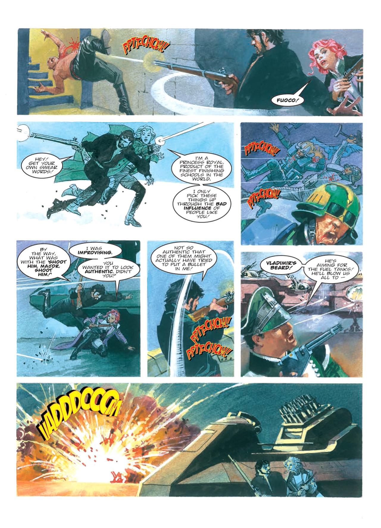 Read online Nikolai Dante comic -  Issue # TPB 9 - 100
