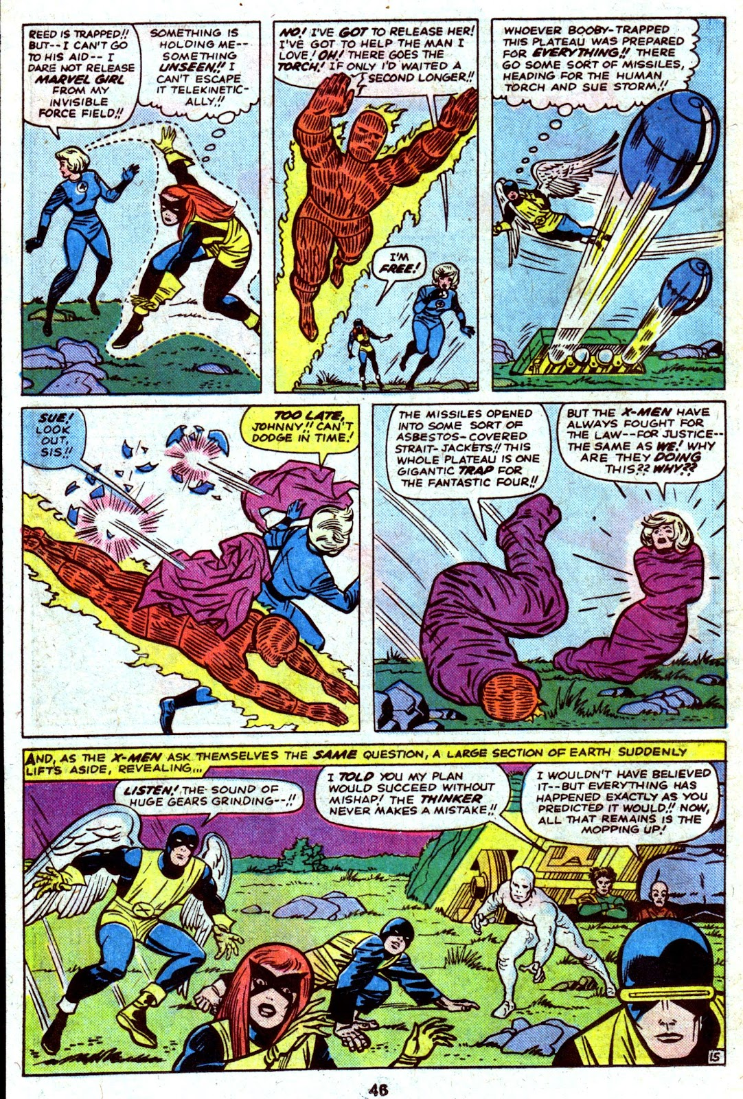 Giant-Size Fantastic Four issue 4 - Page 48