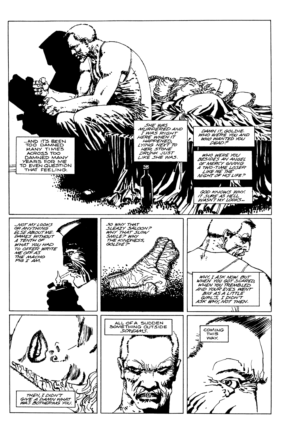 Read online Sin City comic -  Issue #1 - 7