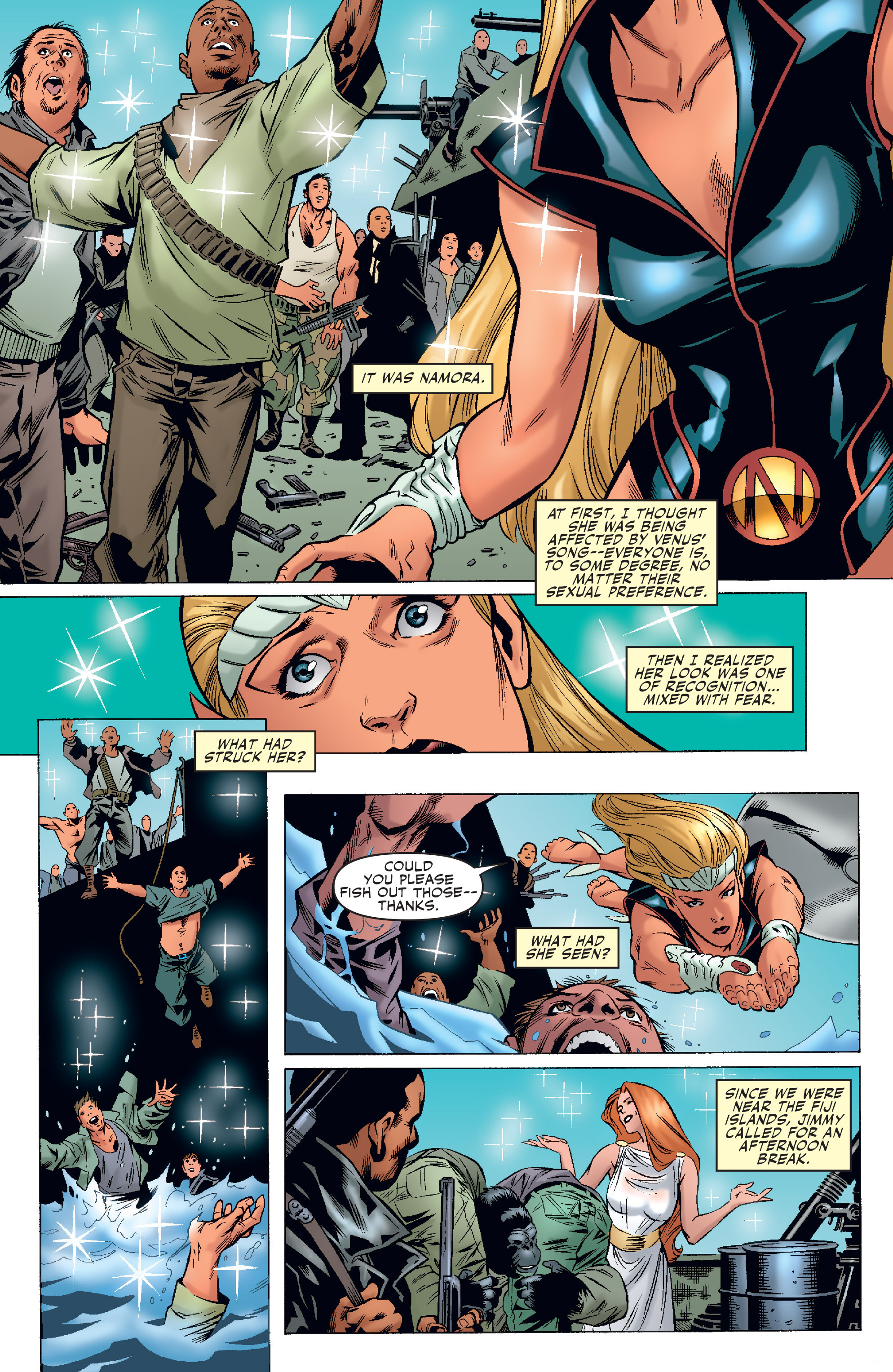 Read online Agents Of Atlas (2006) comic -  Issue #4 - 19