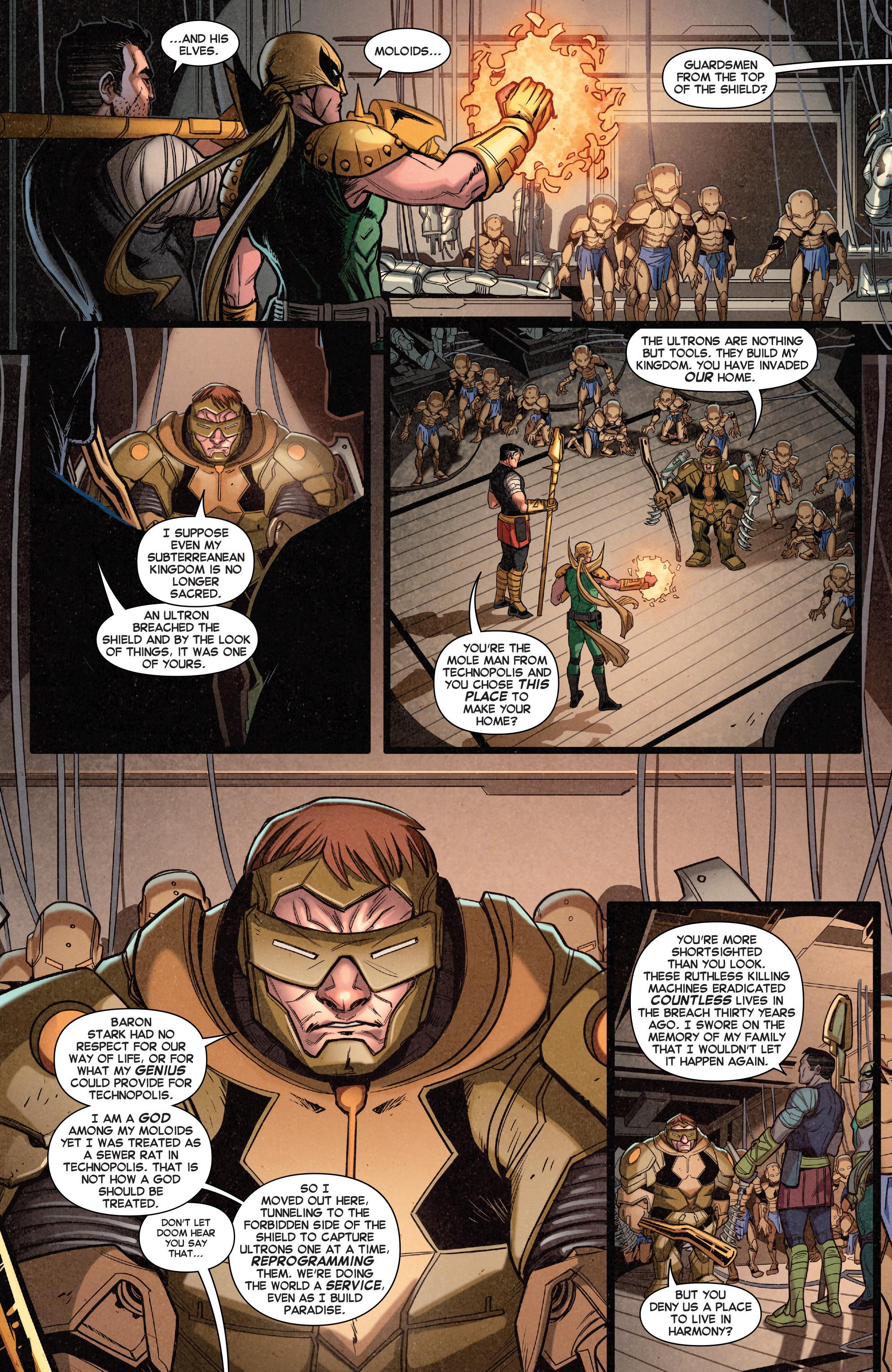 Read online Secret Wars Journal comic -  Issue #4 - 7