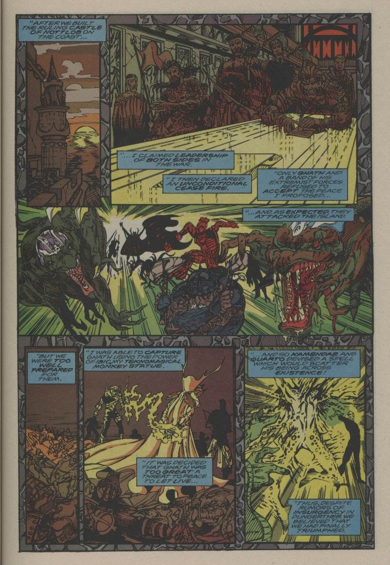 Excalibur (1988) issue Annual 1 - Page 22