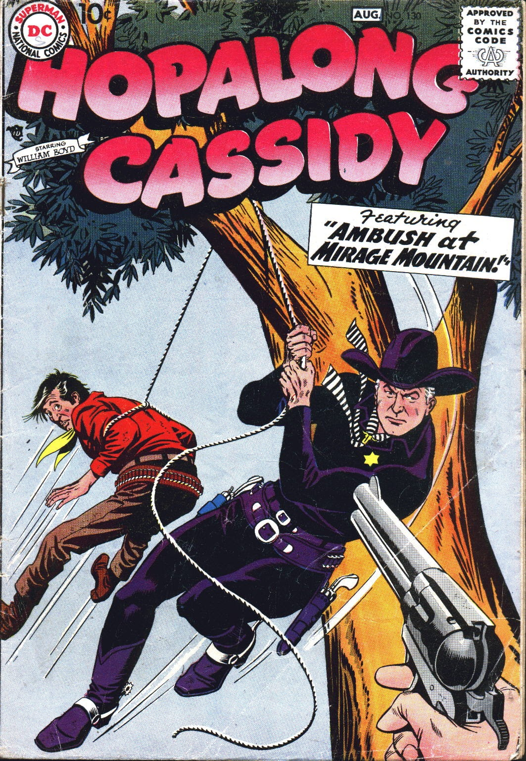 Hopalong Cassidy issue 130 - Page 1