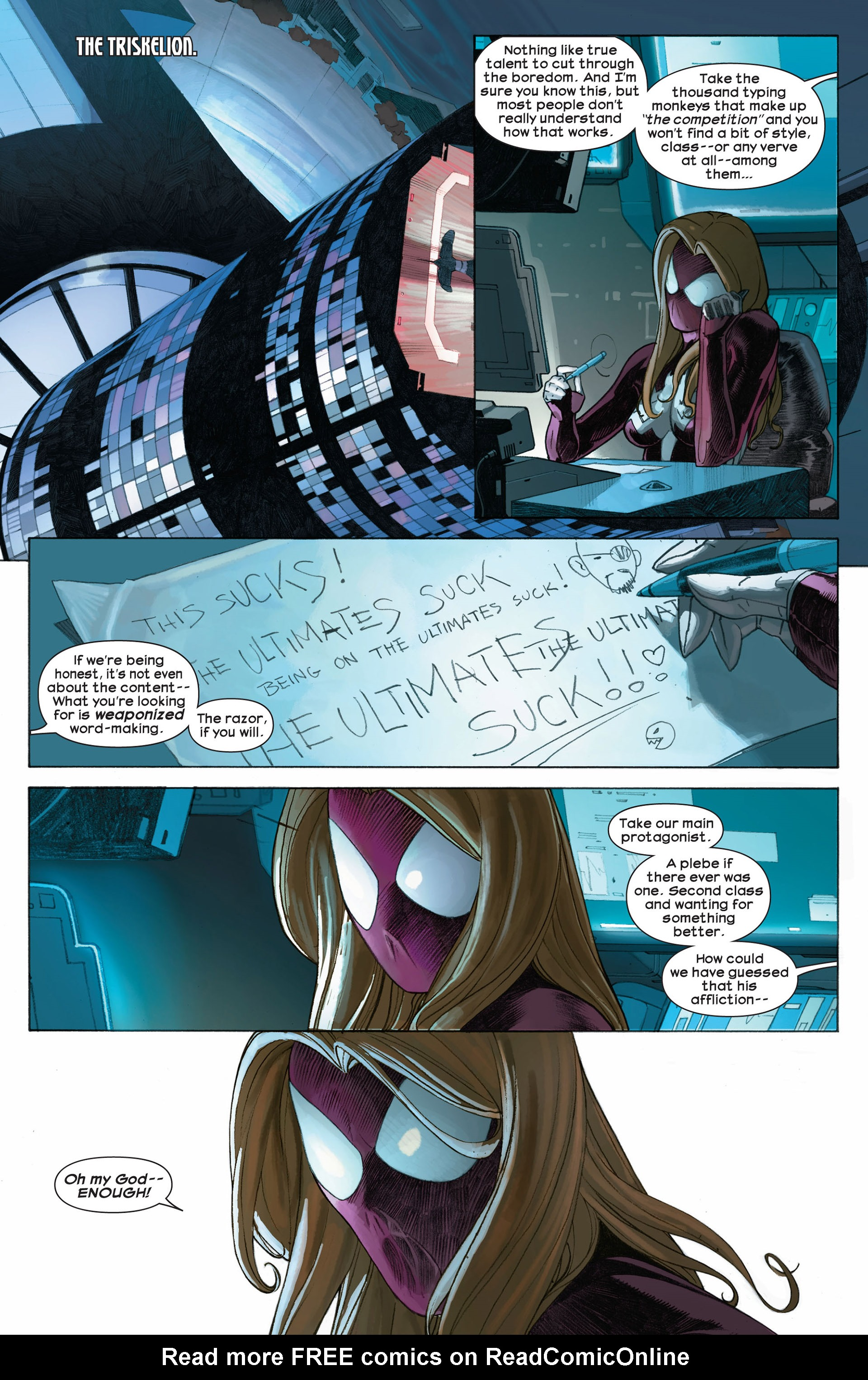 Read online Ultimate Comics Ultimates comic -  Issue #8 - 12