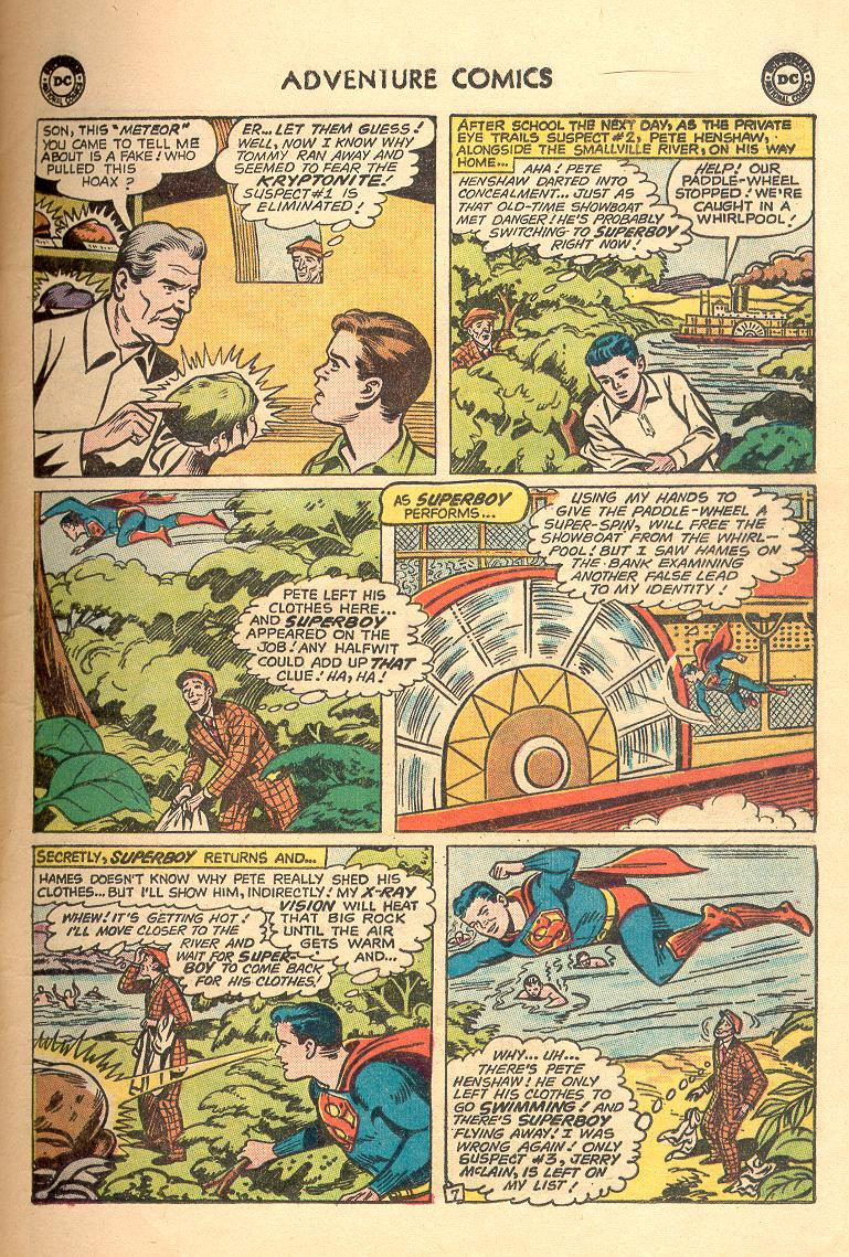 Read online Adventure Comics (1938) comic -  Issue #263 - 9