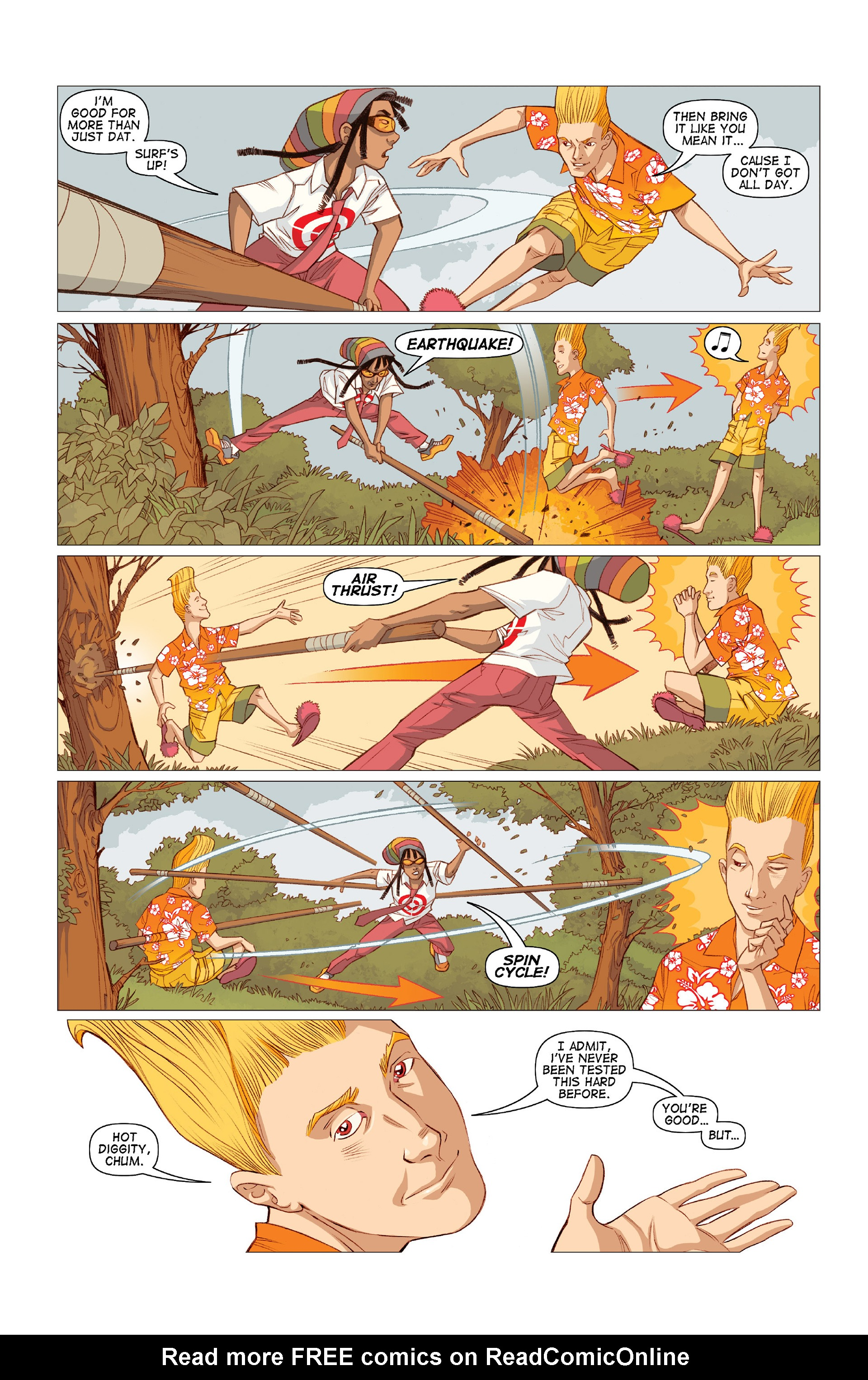 Read online Five Weapons comic -  Issue #10 - 9