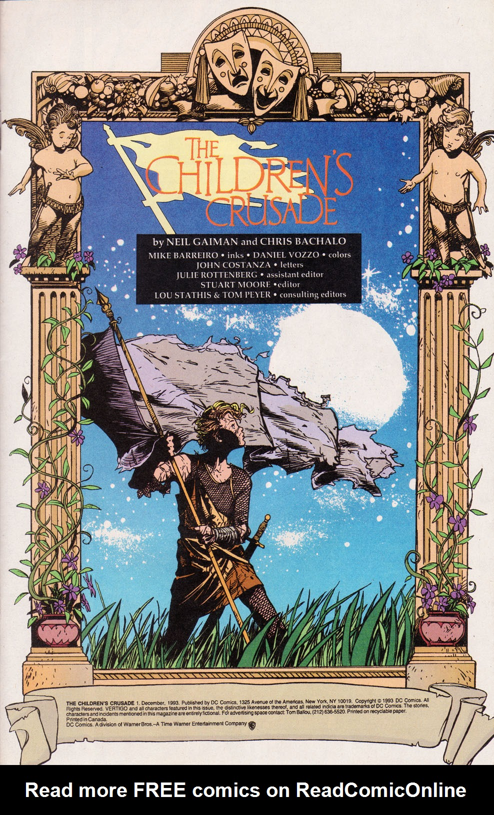 Read online The Children's Crusade comic -  Issue #1 - 2