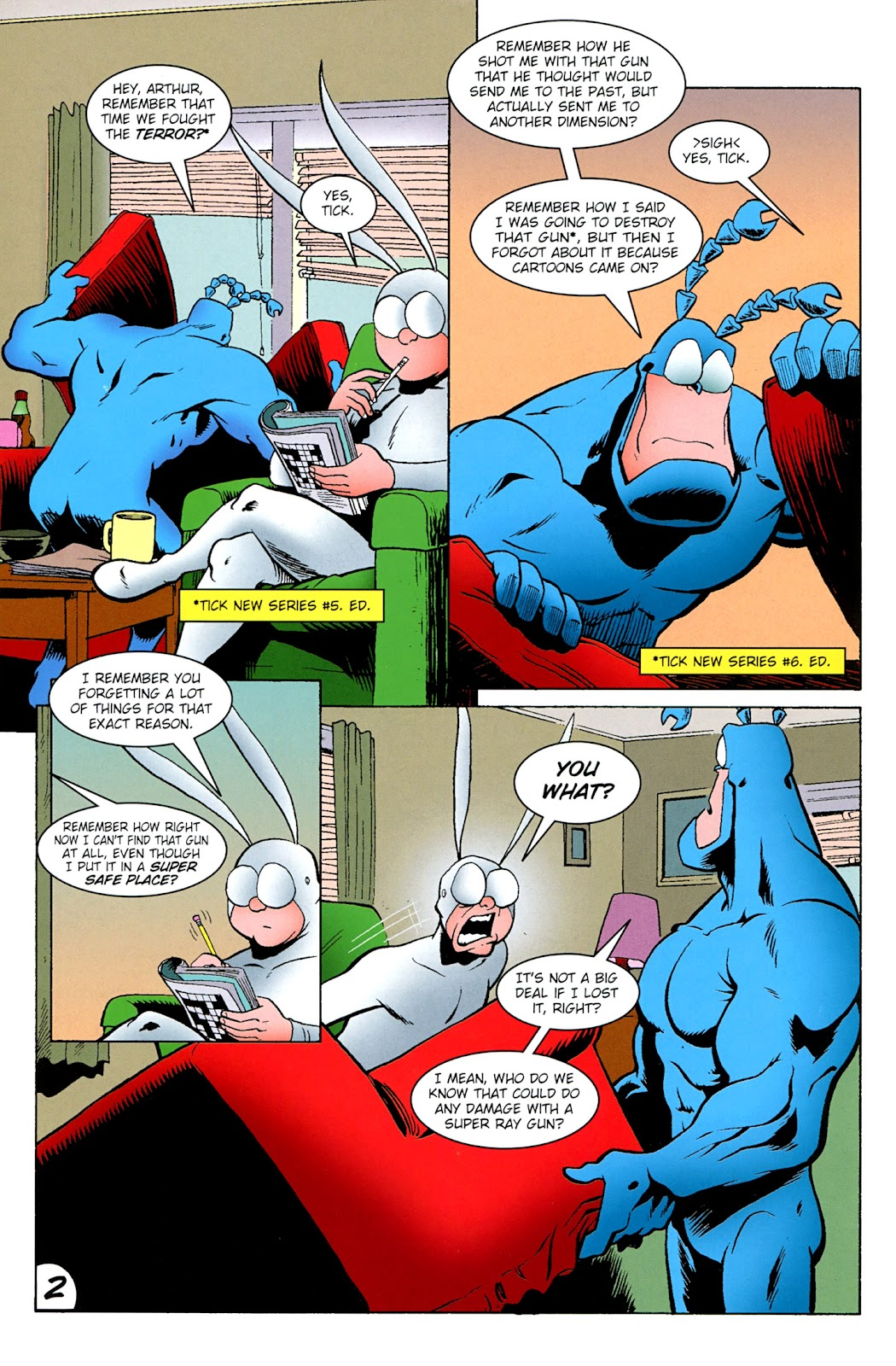 Read online The Tick comic -  Issue #100 - 4