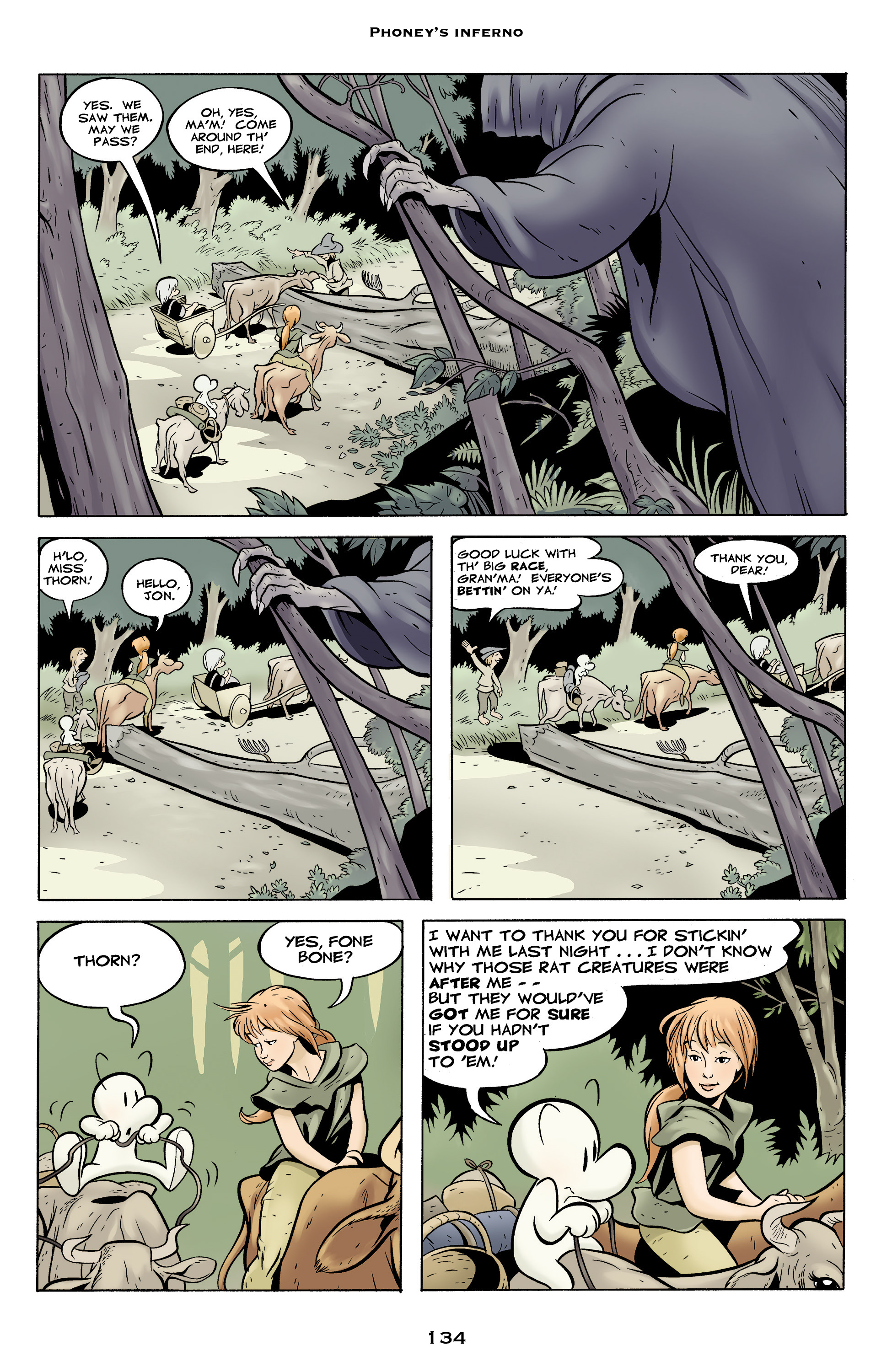 Read online Bone: Out From Boneville comic -  Issue # TPB - 134