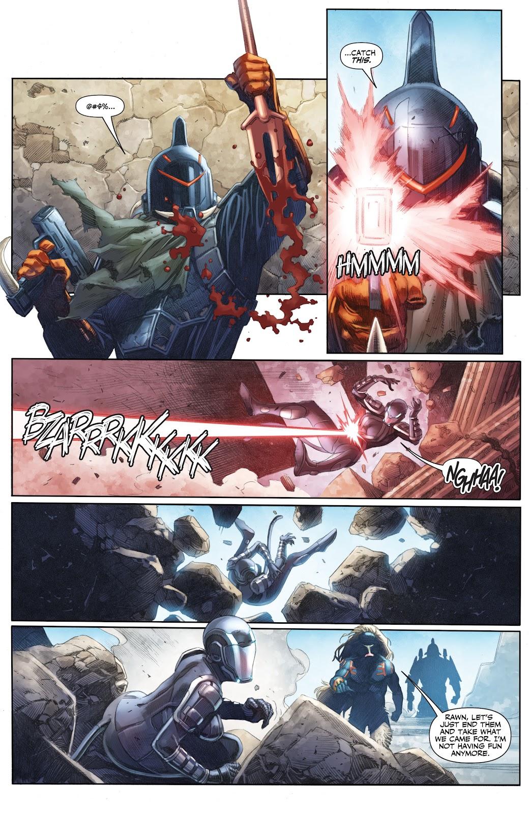 Read online X-O Manowar (2017) comic -  Issue #25 - 8