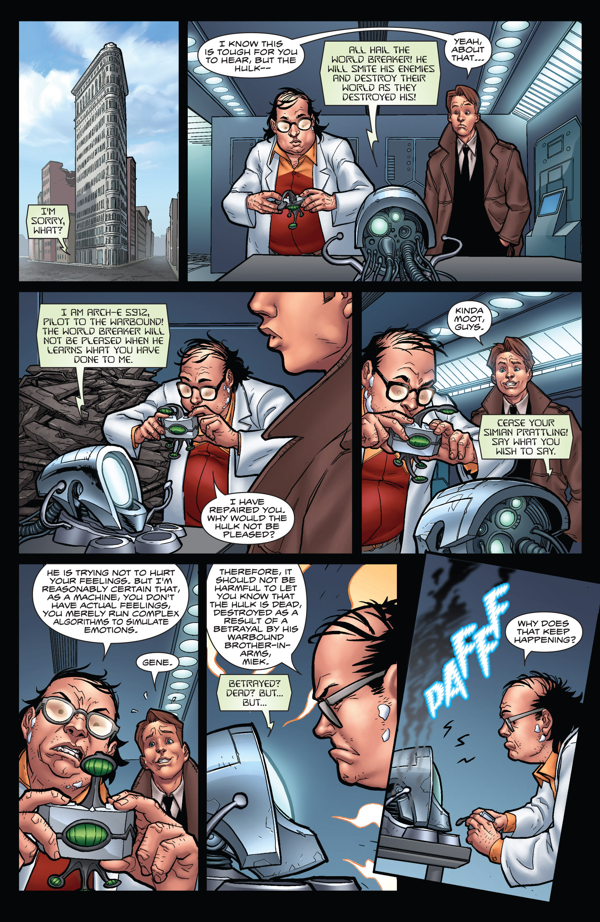 Read online WWH Aftersmash: Damage Control comic -  Issue #3 - 9
