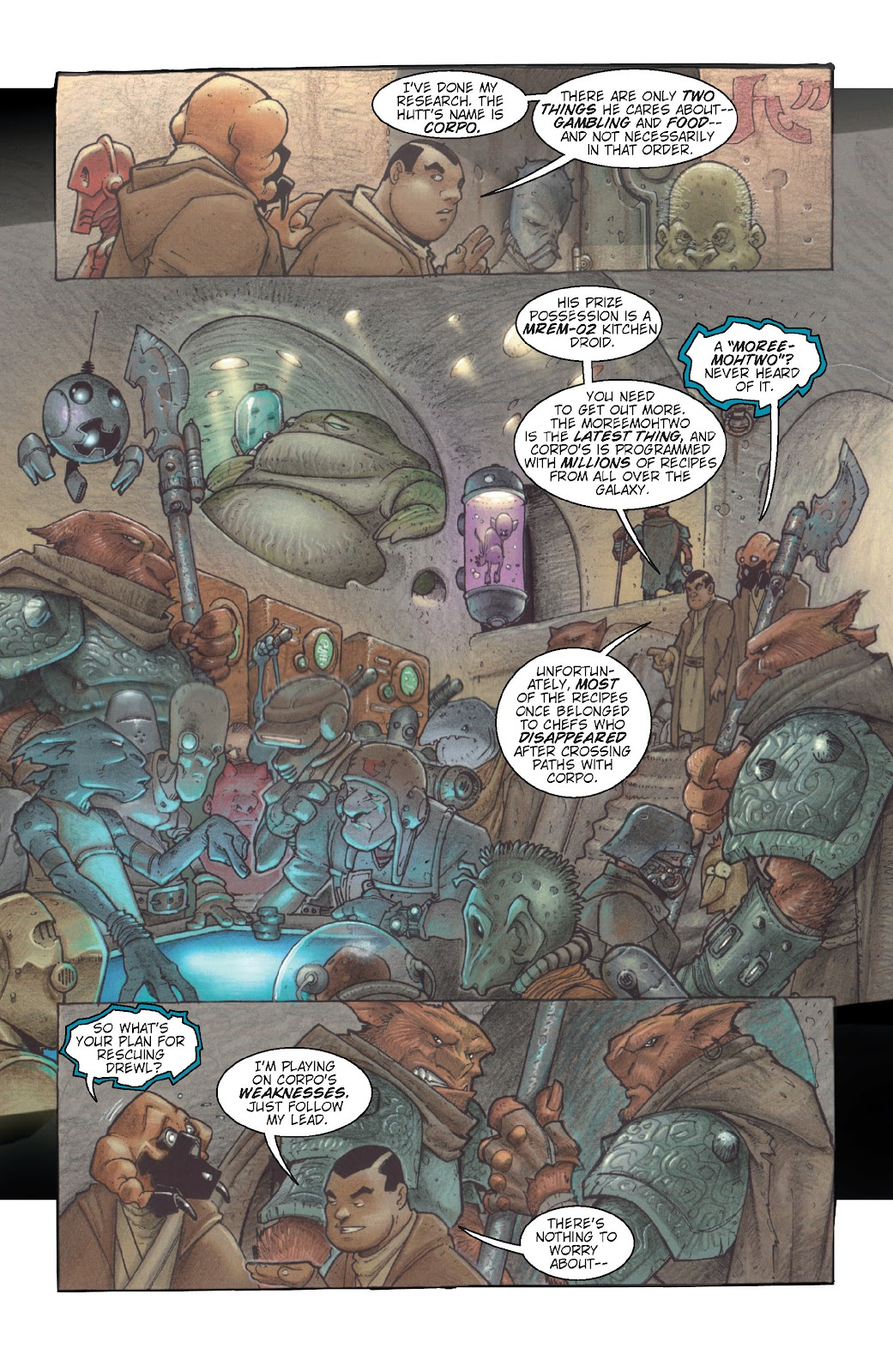 Read online Star Wars Legends: Rise of the Sith - Epic Collection comic -  Issue # TPB 1 (Part 5) - 72