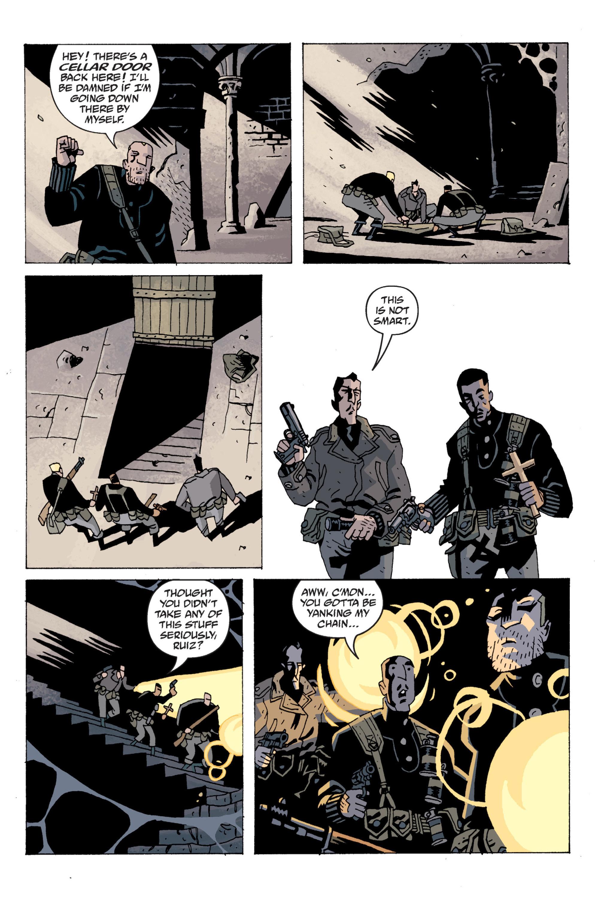 Read online B.P.R.D. (2003) comic -  Issue # TPB 13 - 56