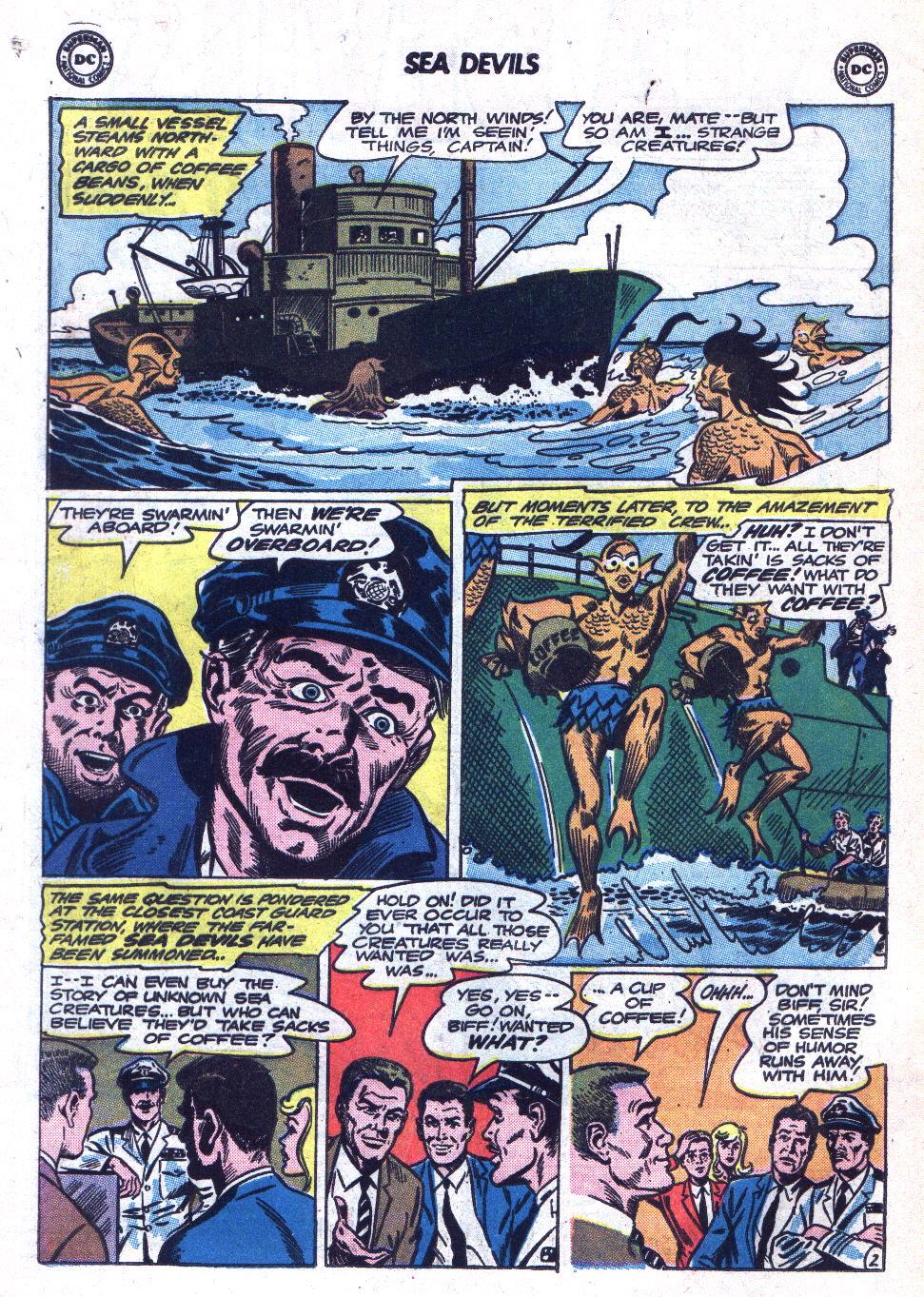 Read online Sea Devils comic -  Issue #18 - 4