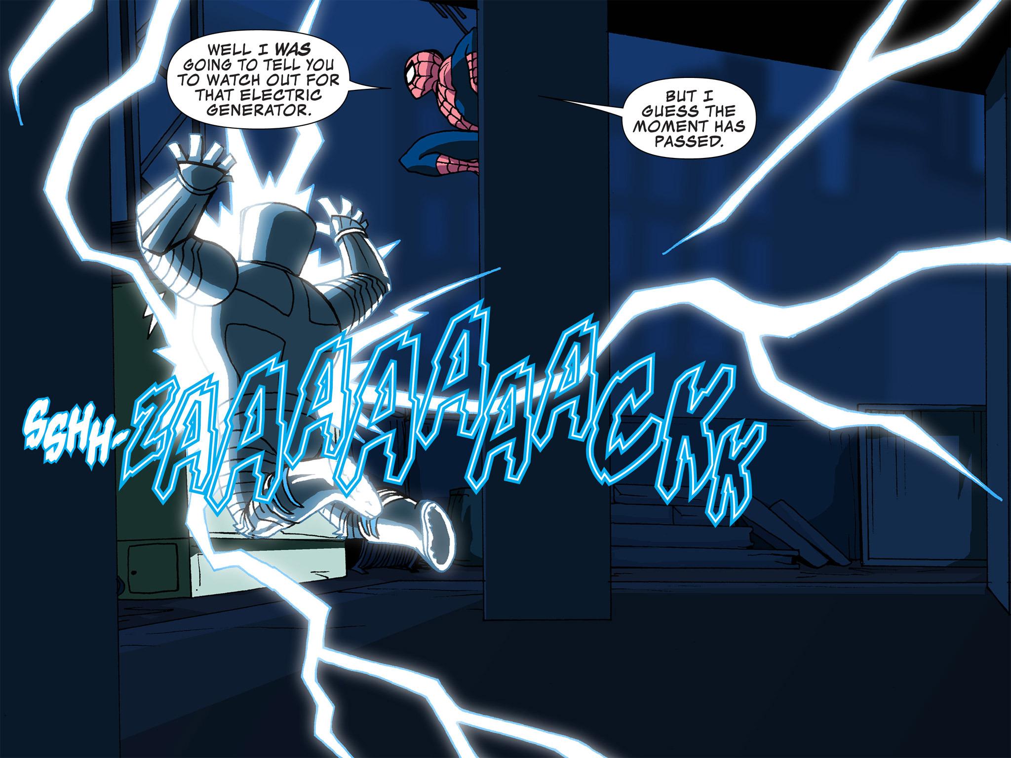 Read online Ultimate Spider-Man (Infinite Comics) (2015) comic -  Issue #4 - 17