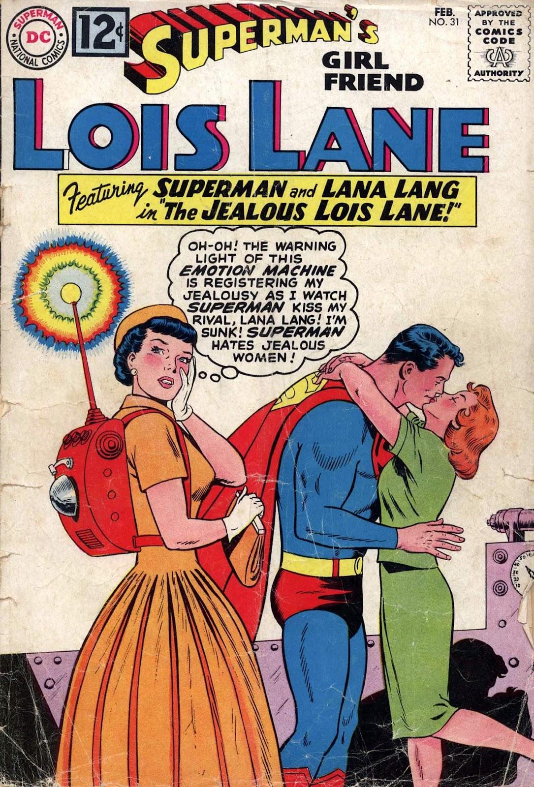 Supermans Girl Friend, Lois Lane 31 Page 1