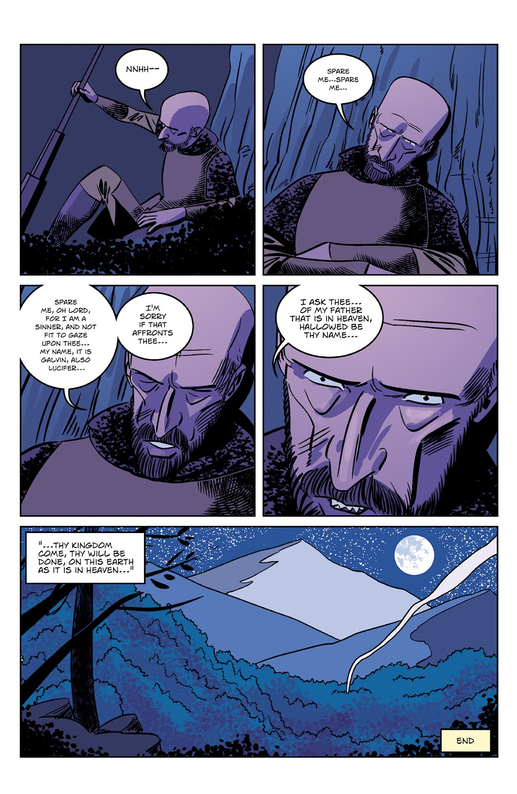 Read online Dark Ages comic -  Issue #4 - 24
