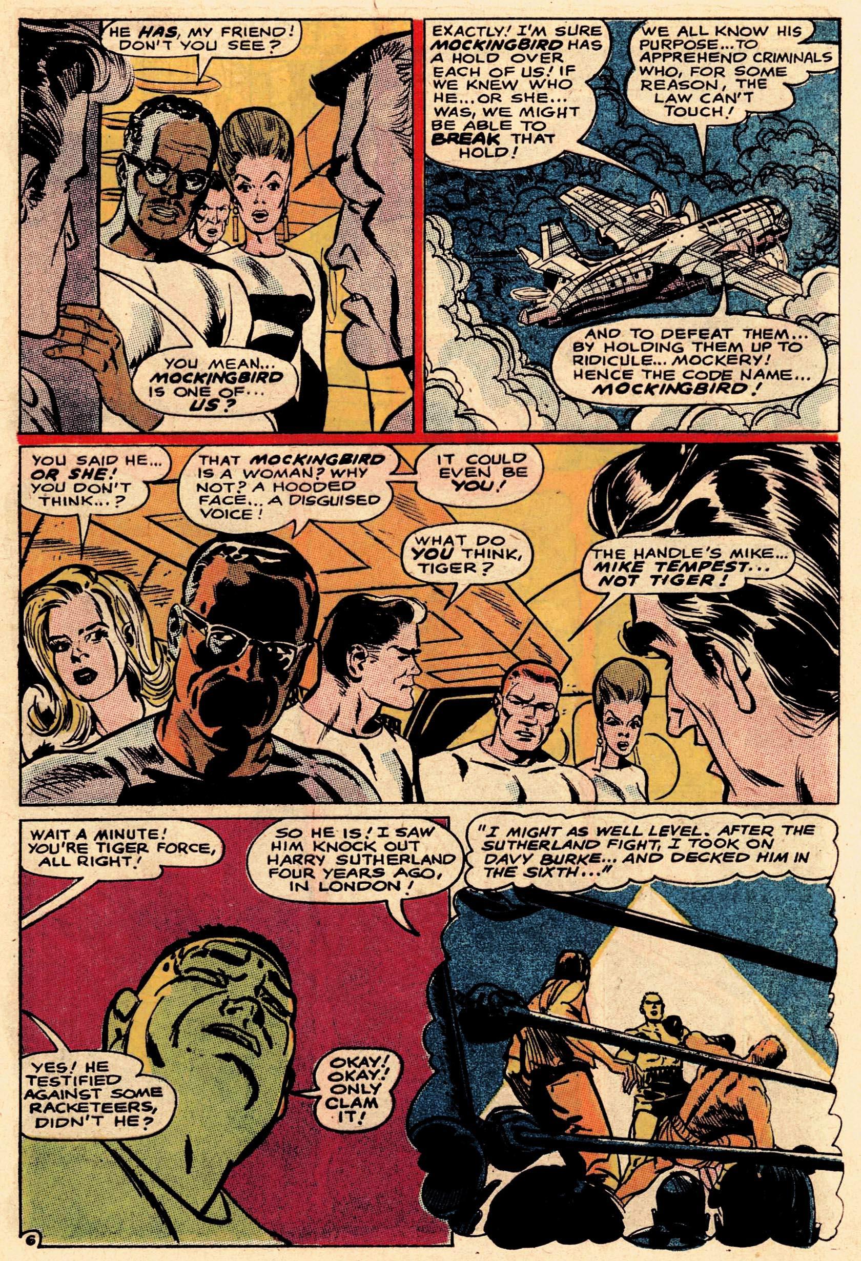Read online Secret Six (1968) comic -  Issue #1 - 9