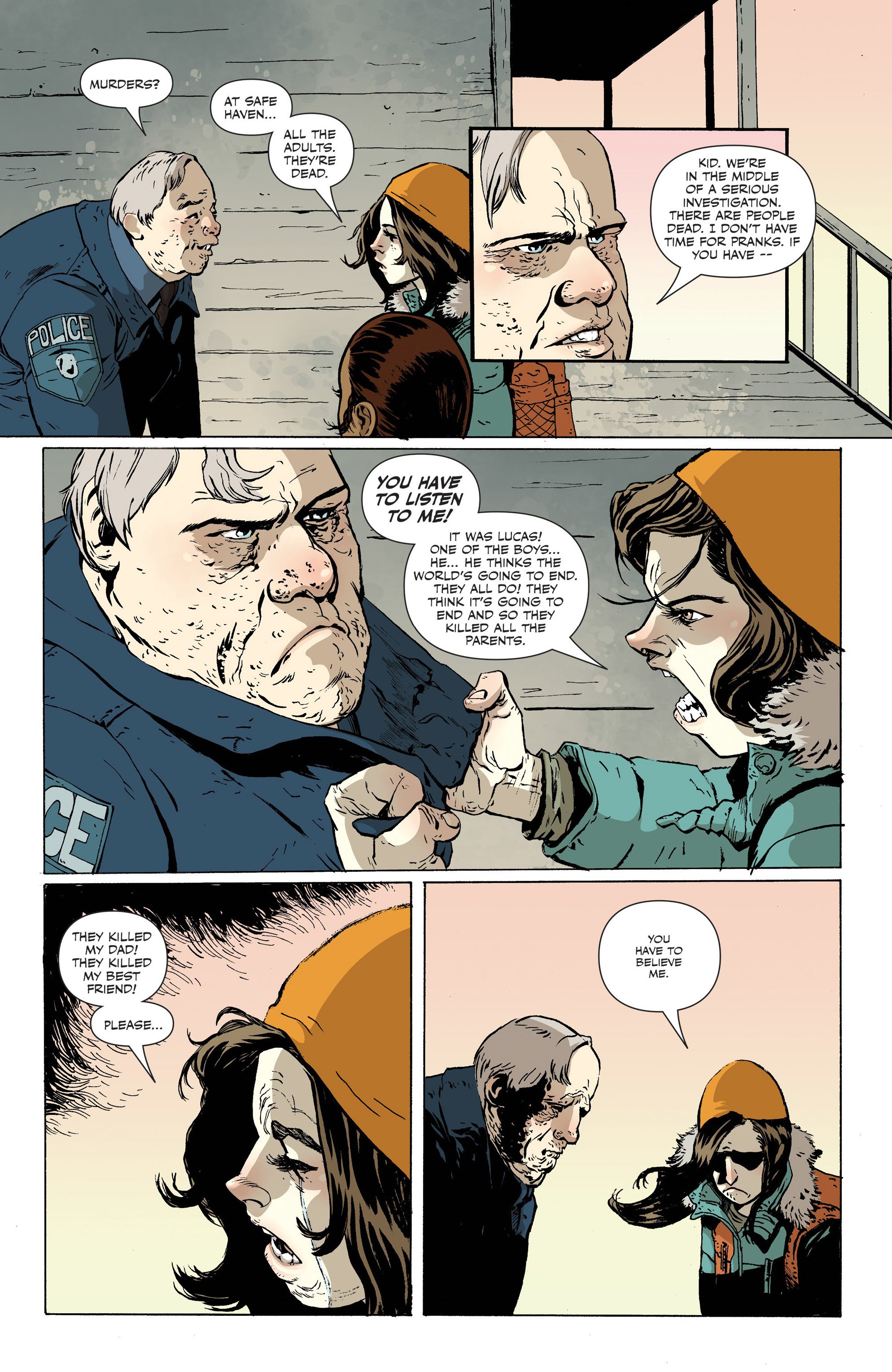 Read online Sheltered comic -  Issue #12 - 12