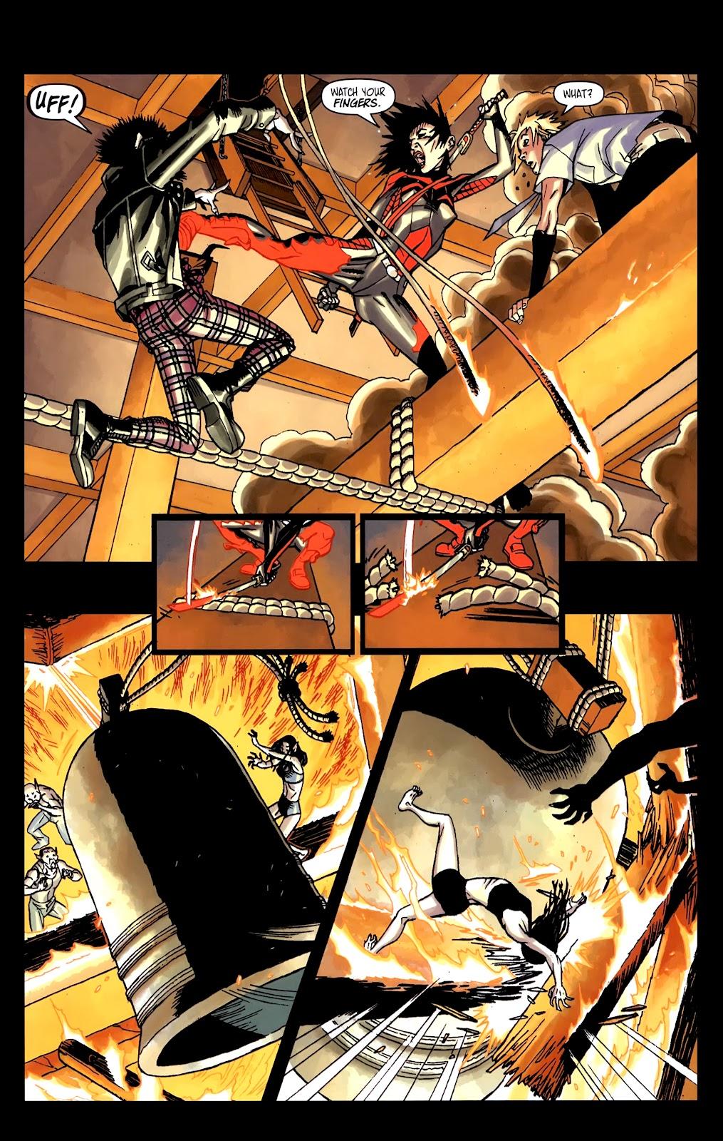 Read online Shinku comic -  Issue #5 - 23