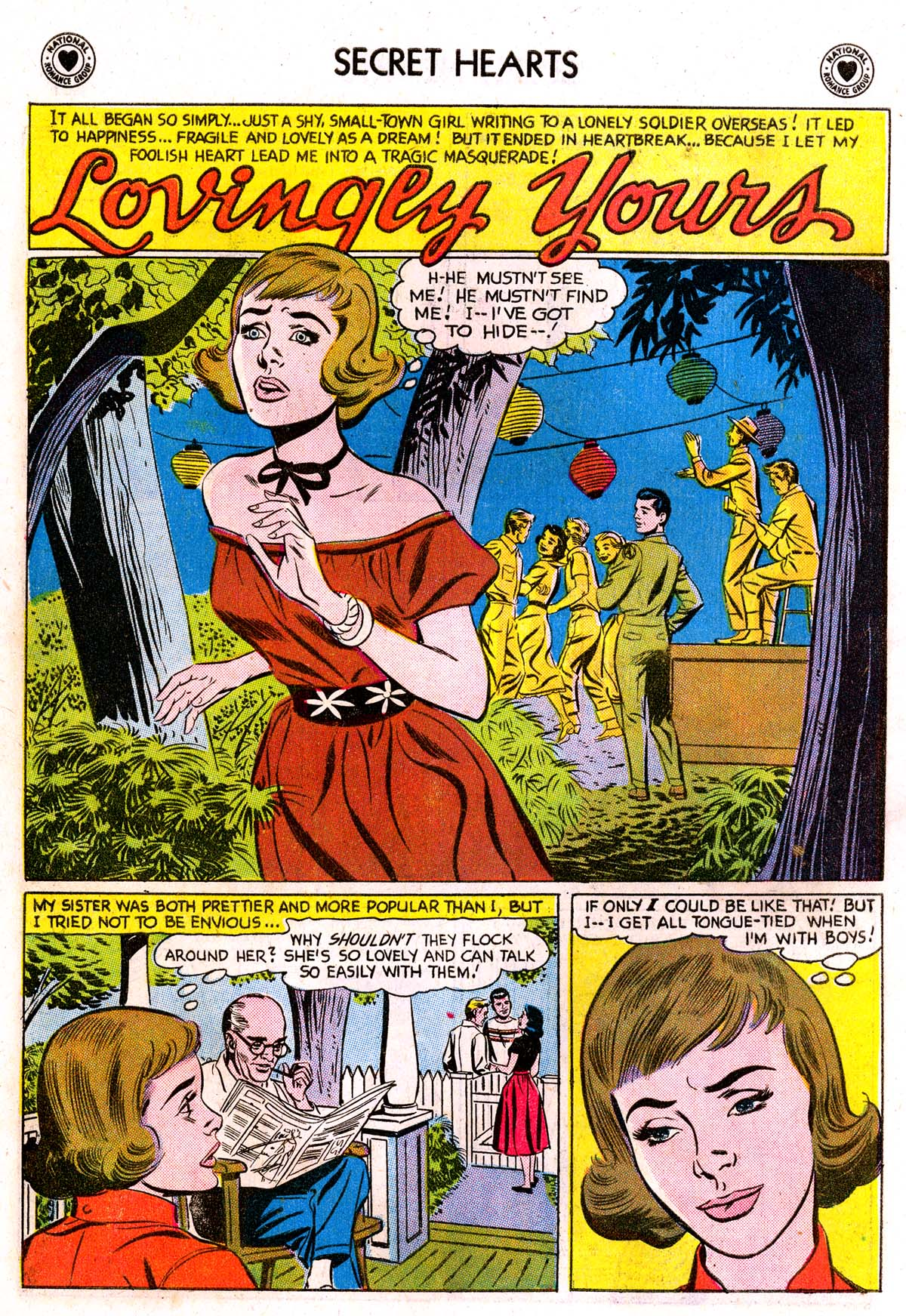 Read online Secret Hearts comic -  Issue #42 - 10