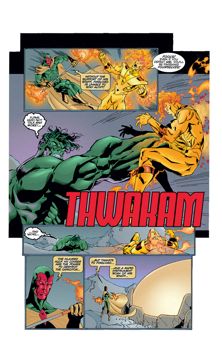 Read online Avengers (1996) comic -  Issue #12 - 26