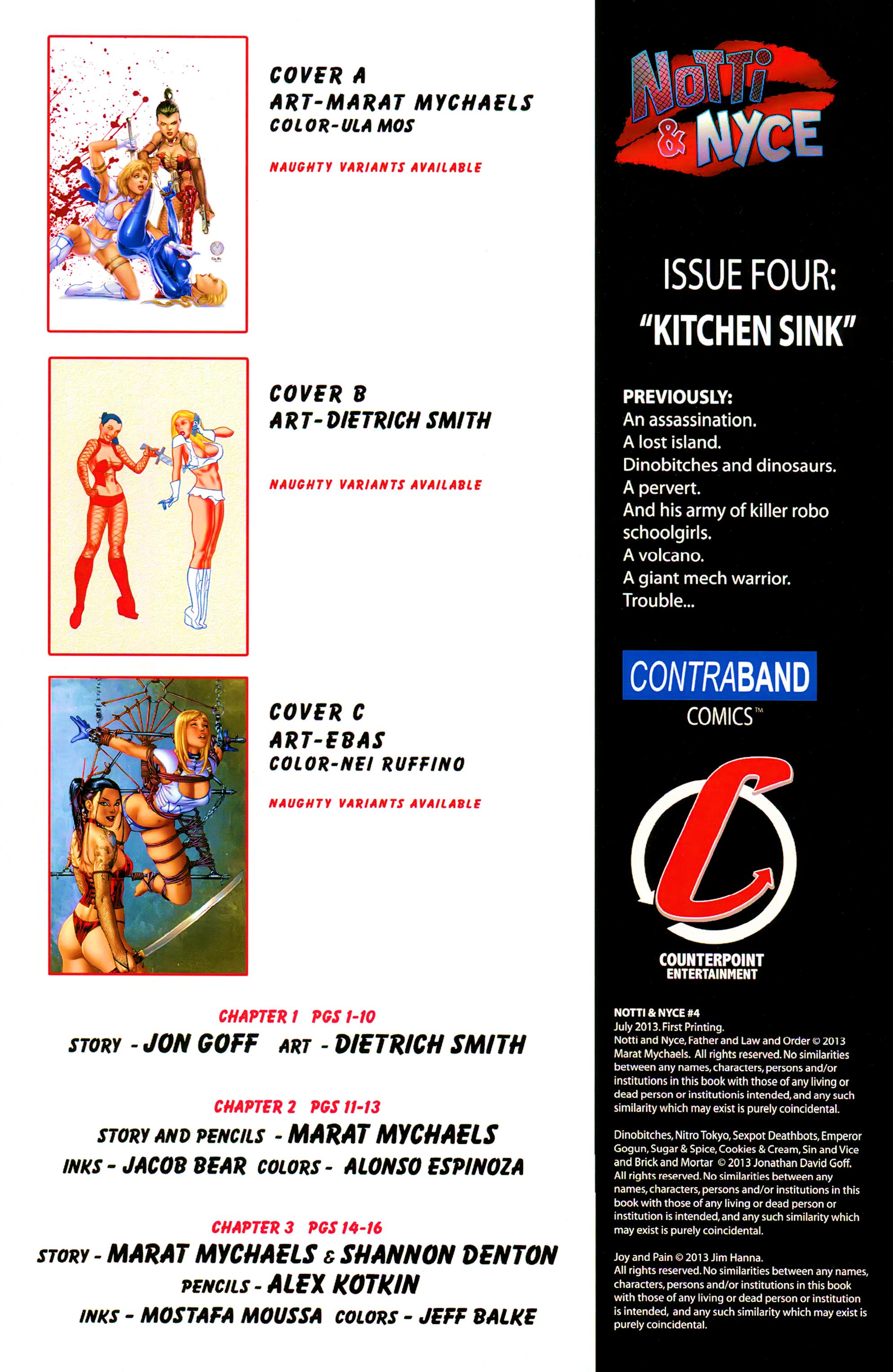 Read online Notti & Nyce comic -  Issue #4 - 2