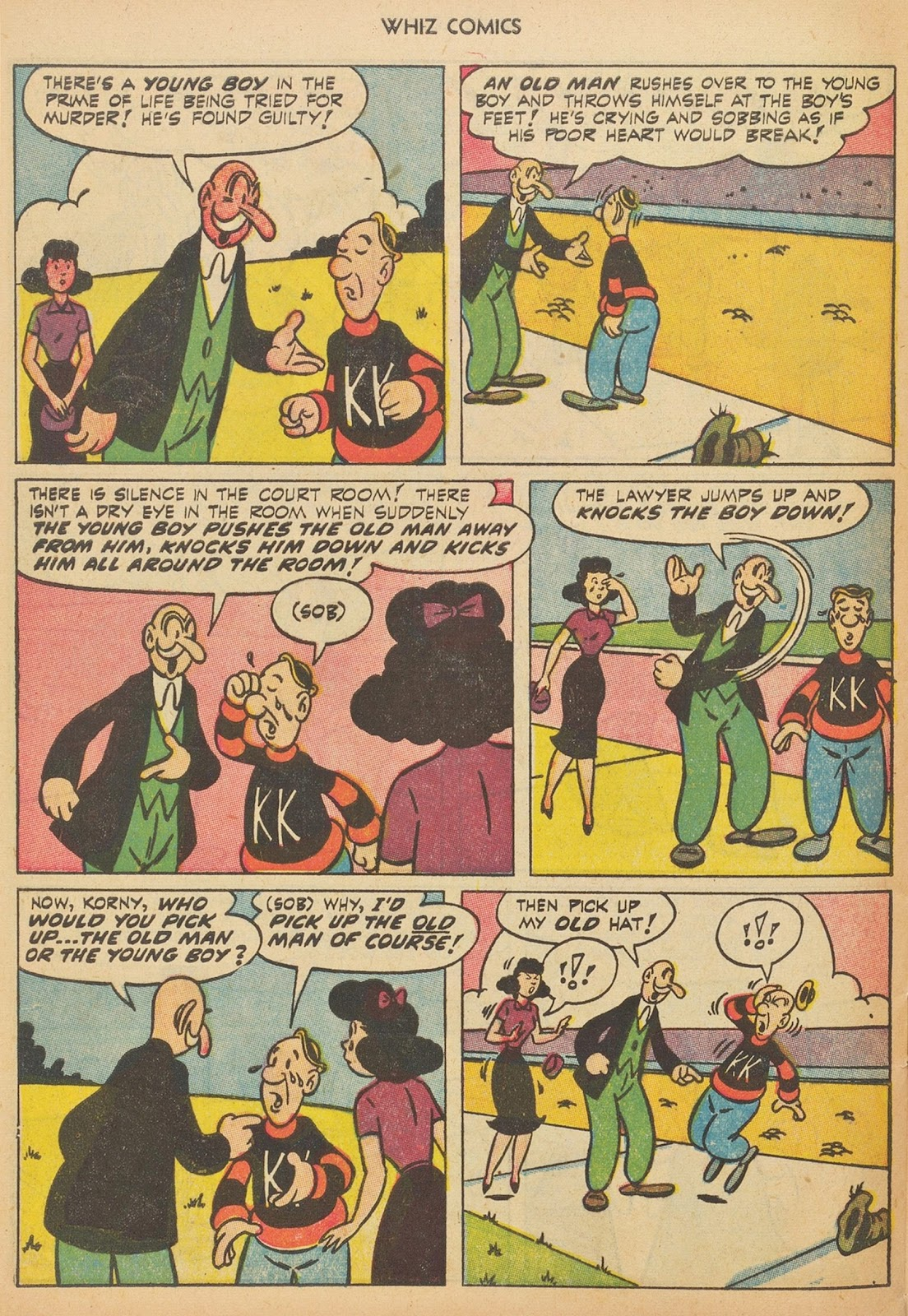 Read online WHIZ Comics comic -  Issue #153 - 28