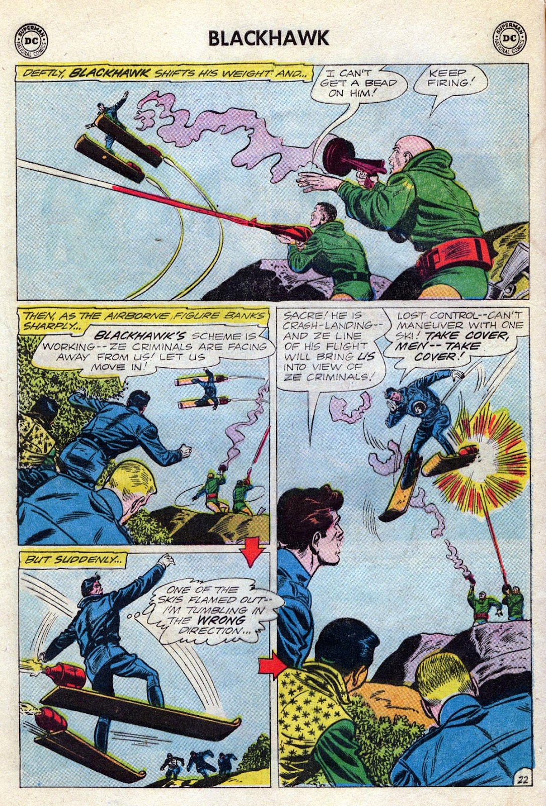Blackhawk (1957) Issue #189 #82 - English 28