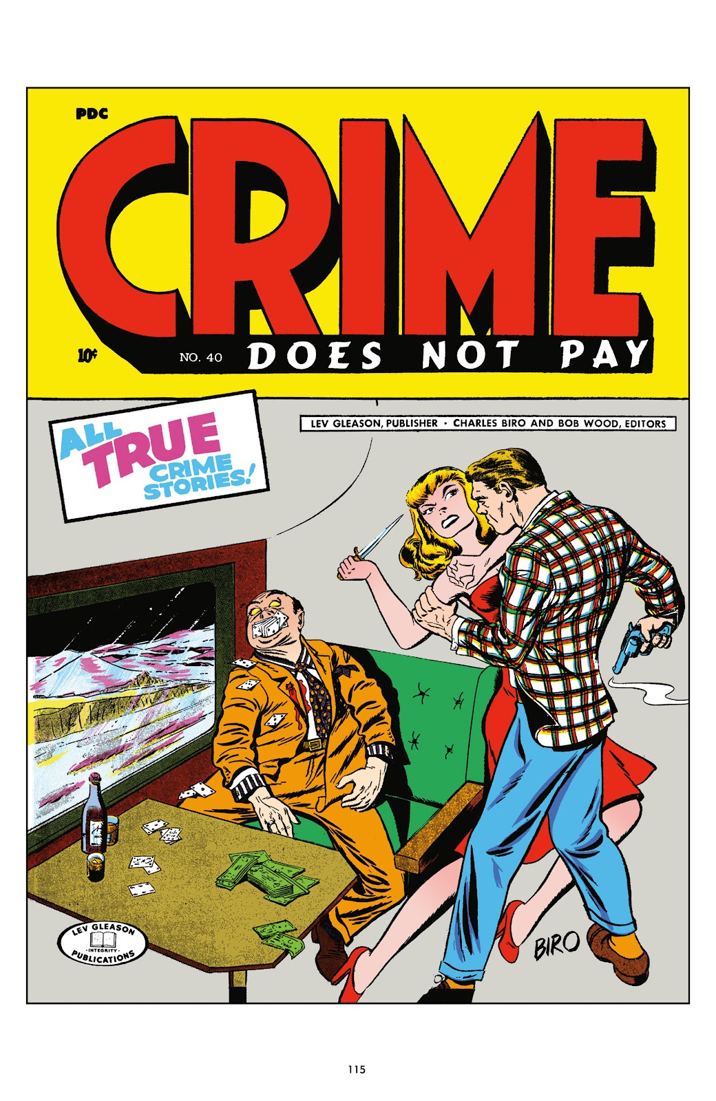 Read online Crime Does Not Pay Archives comic -  Issue # TPB 5 (Part 2) - 15