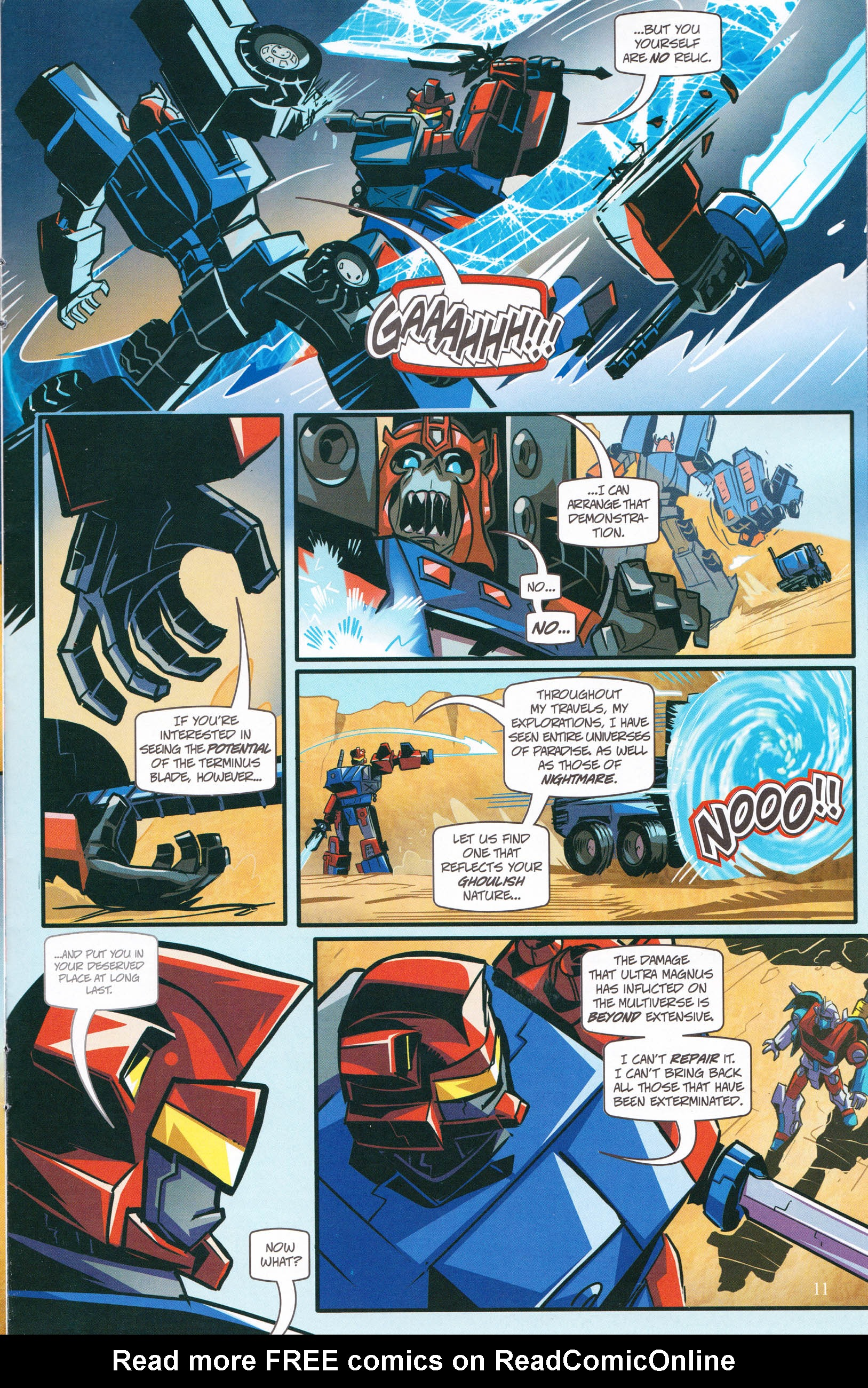 Read online Transformers: Collectors' Club comic -  Issue #64 - 11