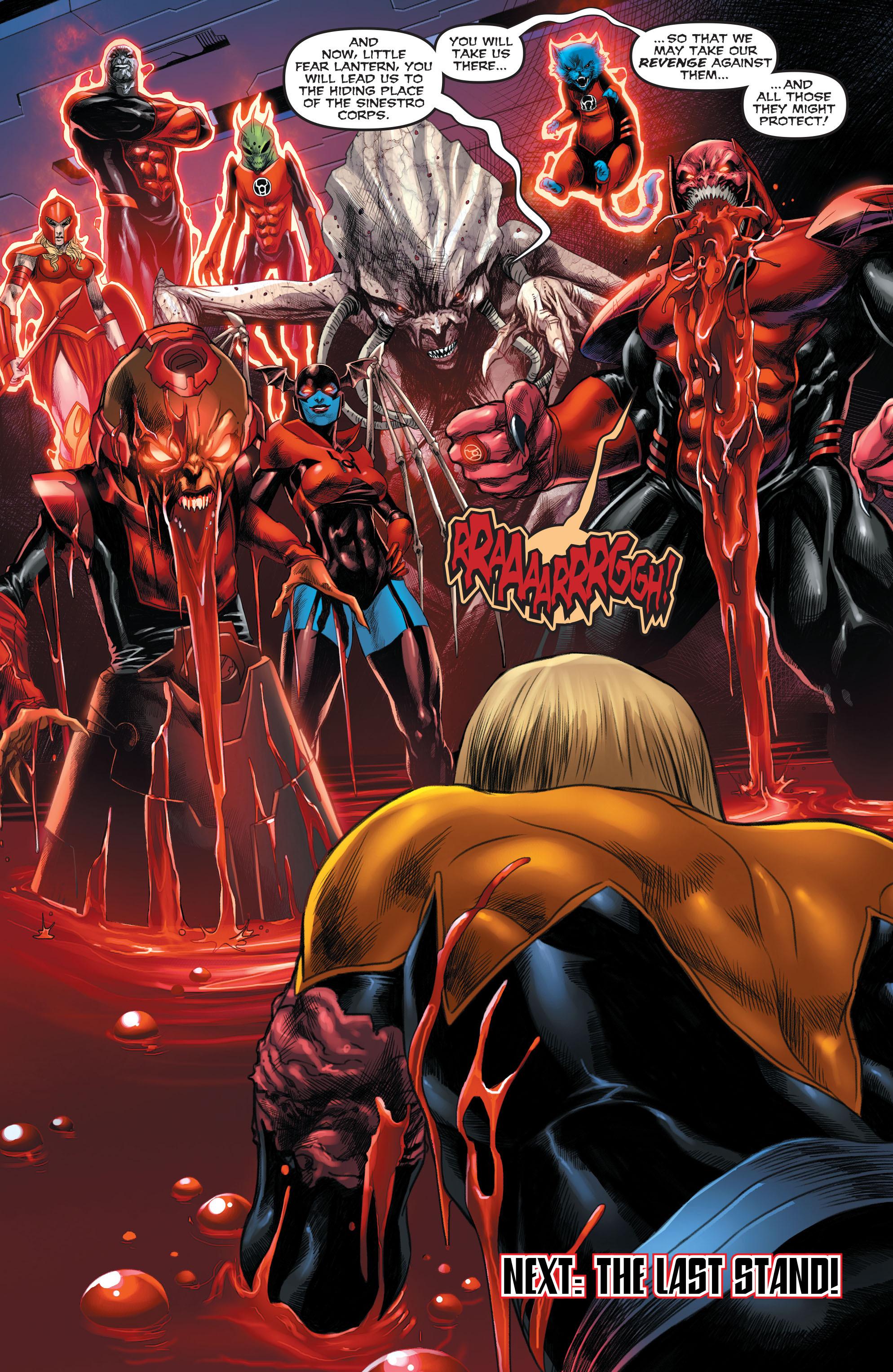 Read online Sinestro comic -  Issue #22 - 22