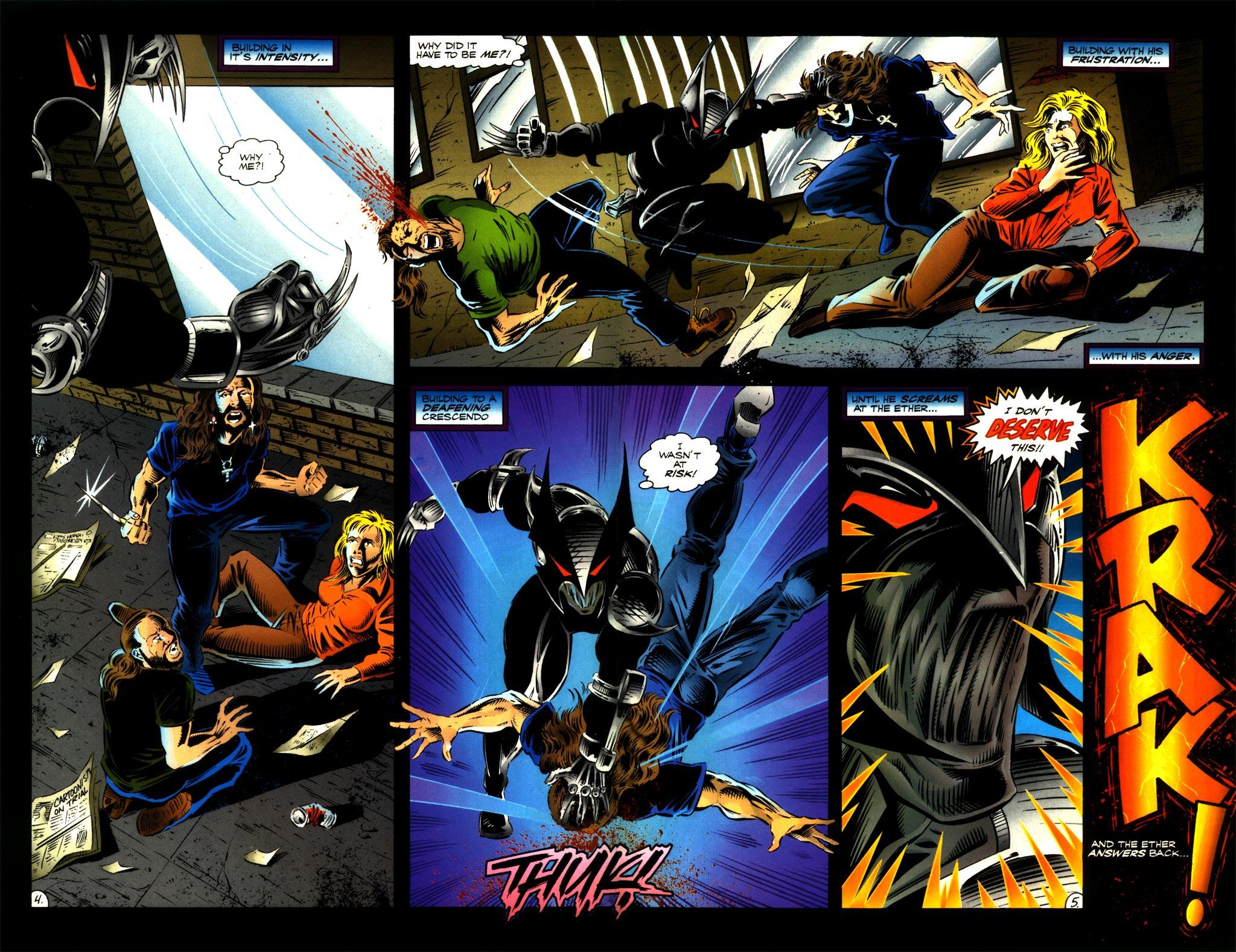 Read online ShadowHawk comic -  Issue #8 - 5