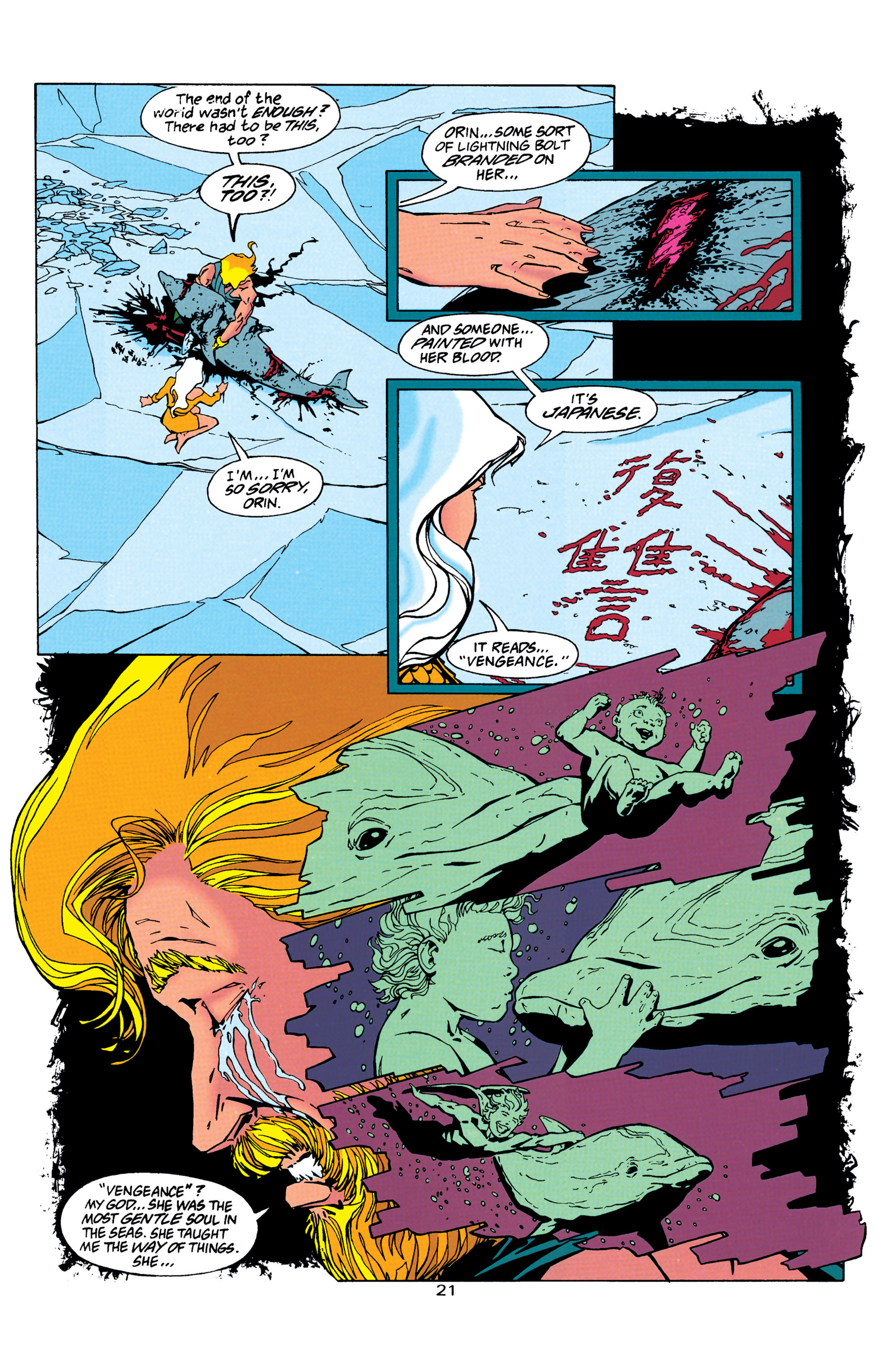 Read online Aquaman (1994) comic -  Issue #26 - 22
