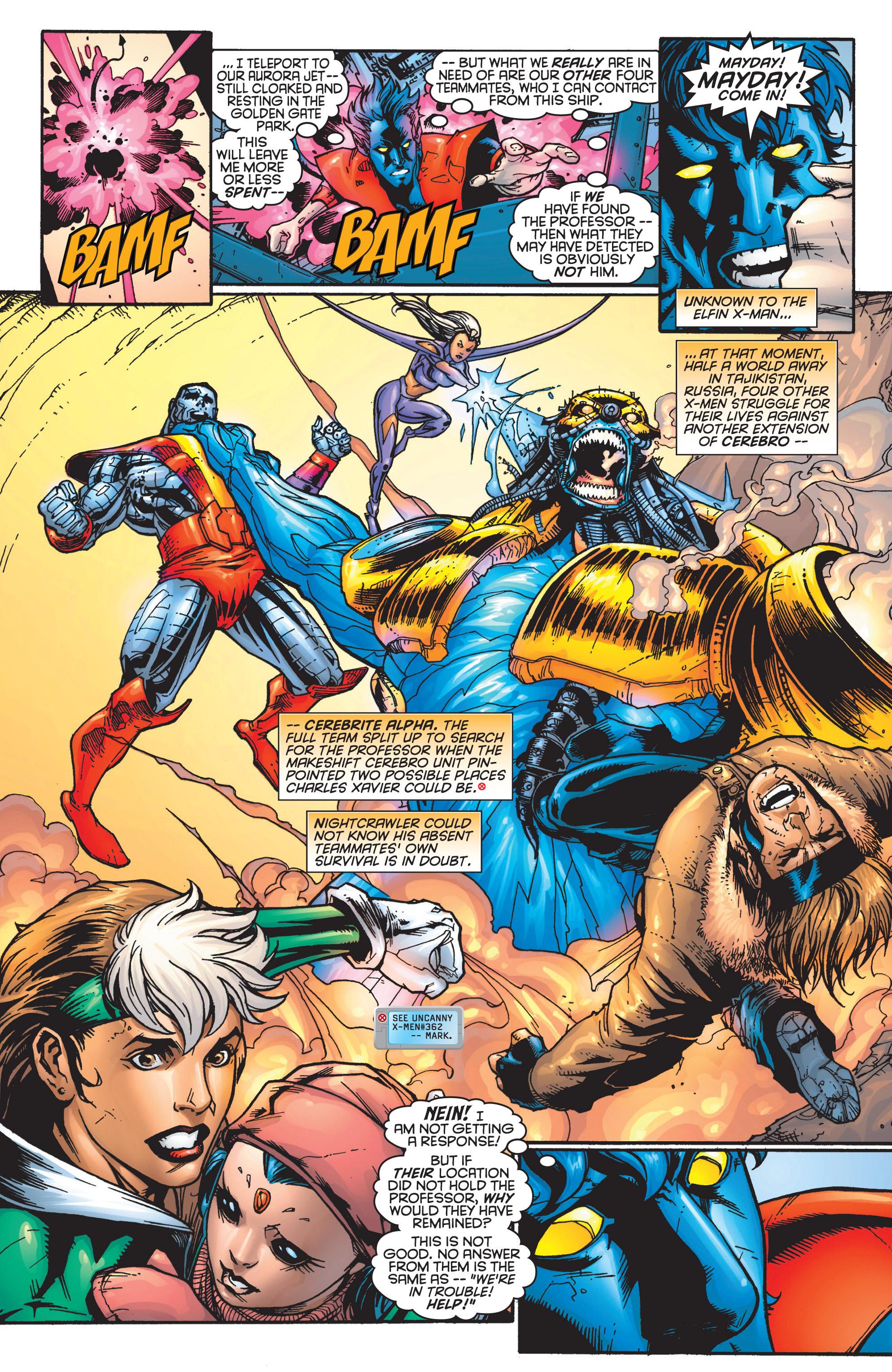 Read online Uncanny X-Men (1963) comic -  Issue #364 - 14