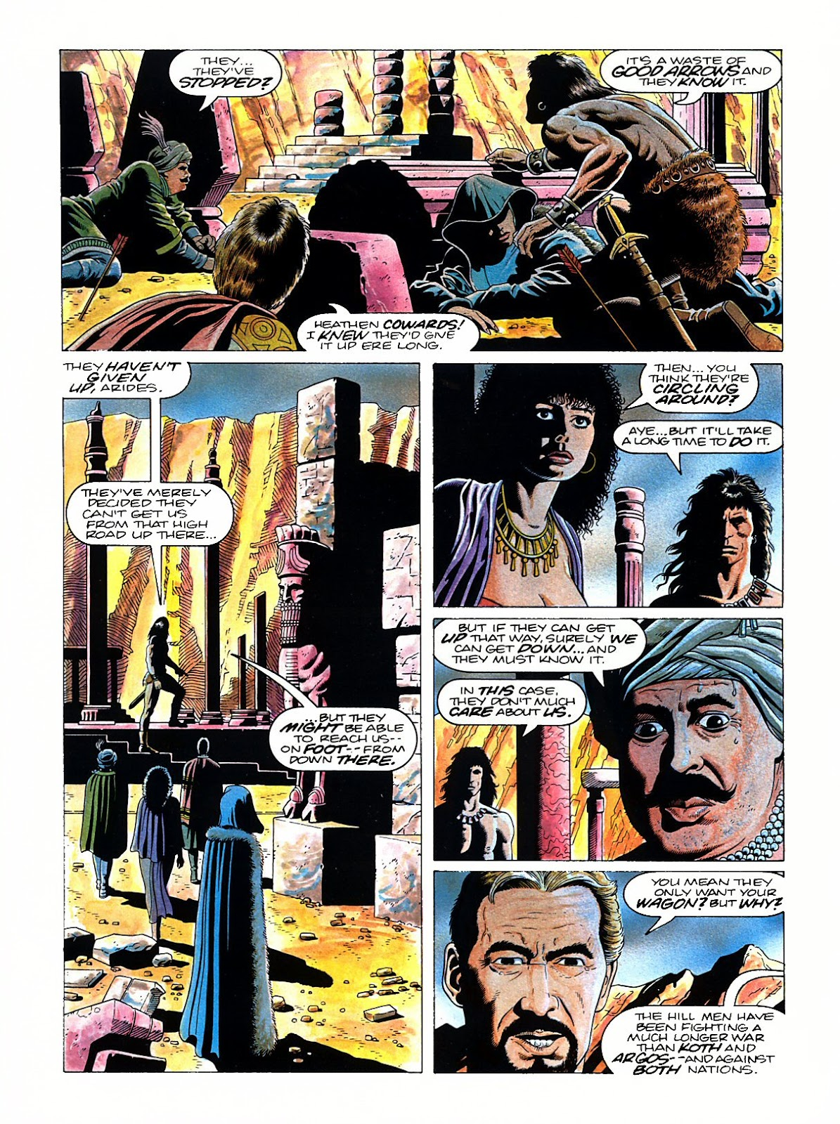 Read online Marvel Graphic Novel: Conan the Barbarian: The Skull of Set comic -  Issue # Full - 31