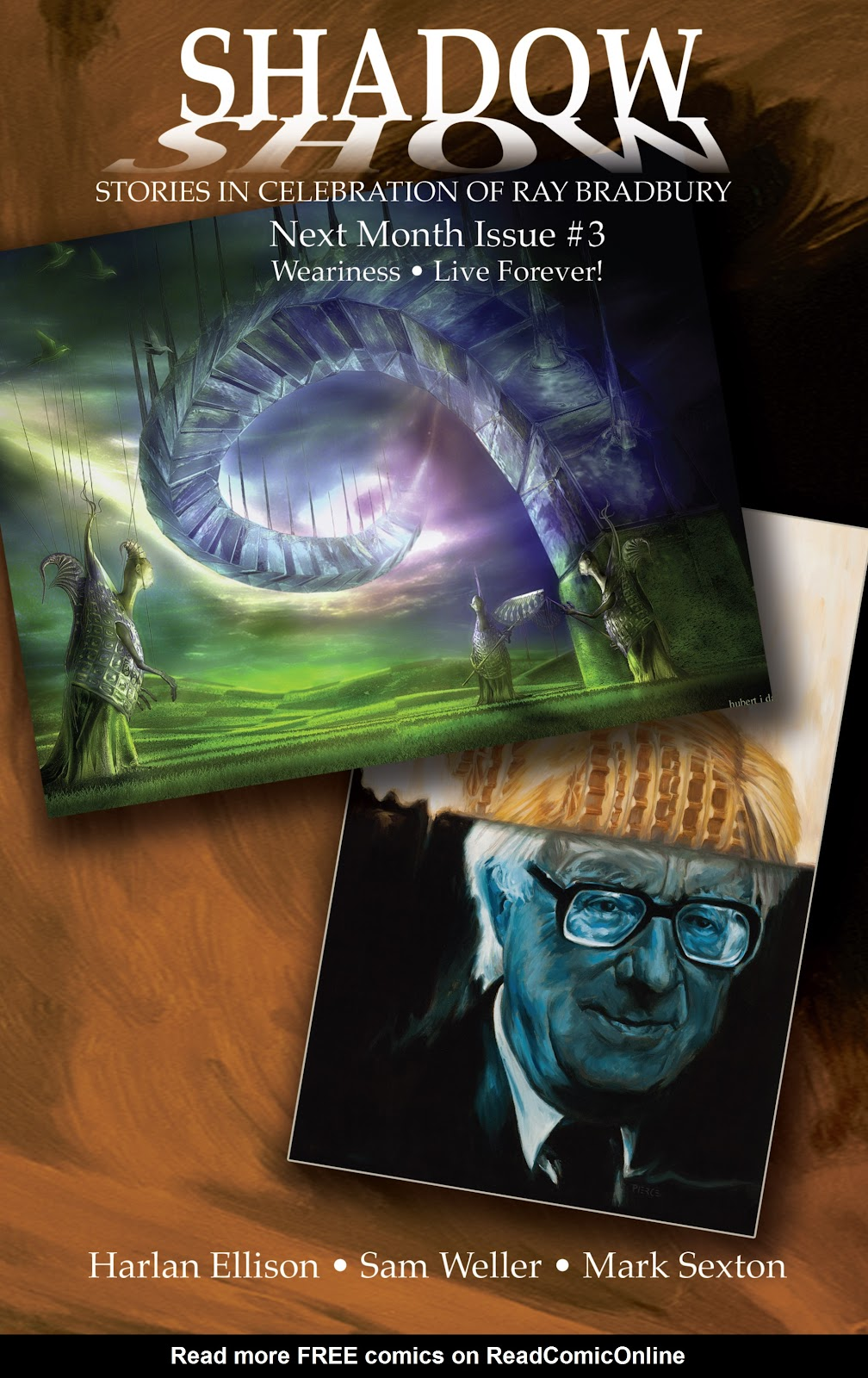 Read online Shadow Show: Stories in Celebration of Ray Bradbury comic -  Issue #2 - 26