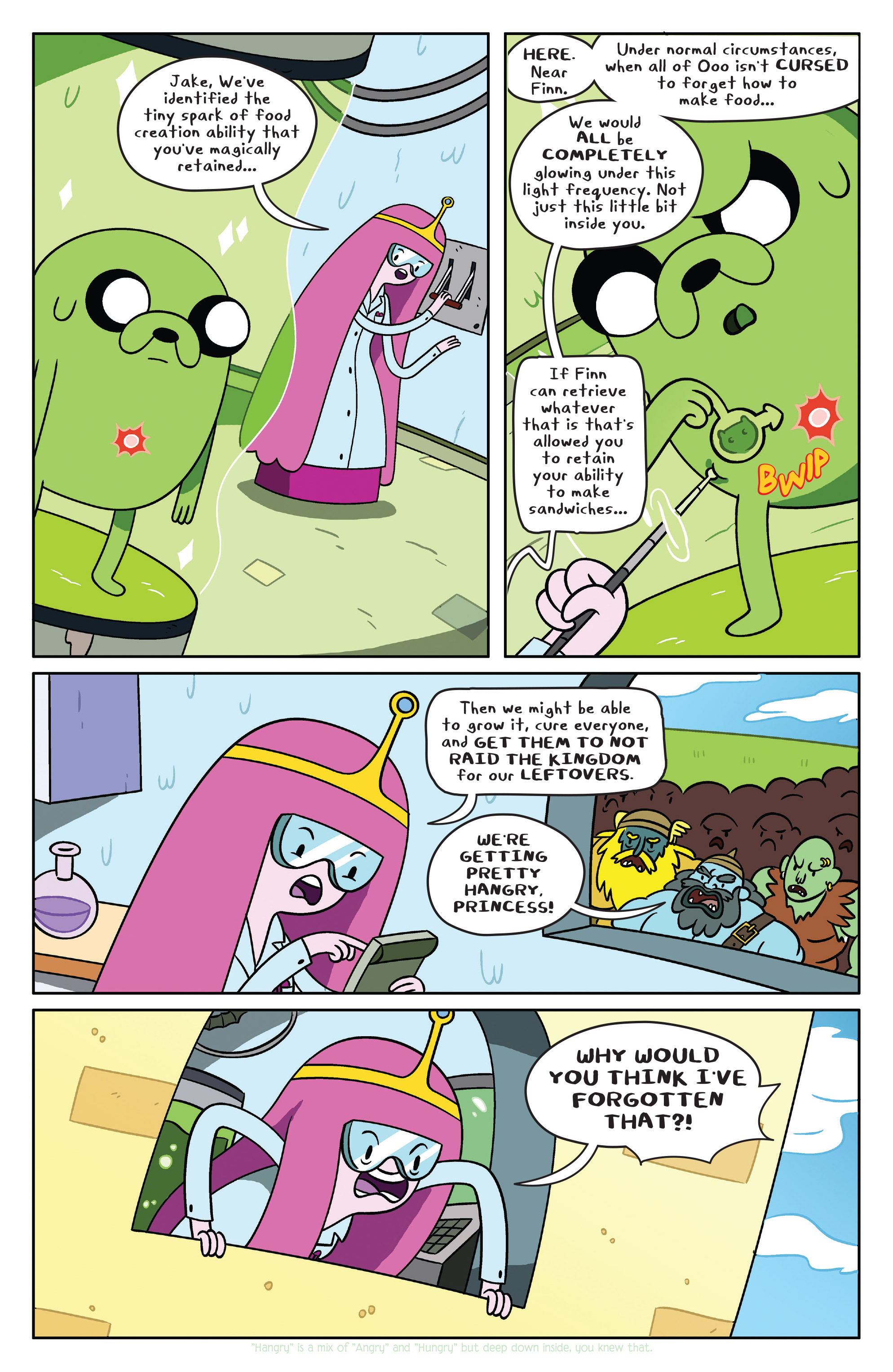 Read online Adventure Time comic -  Issue #38 - 5