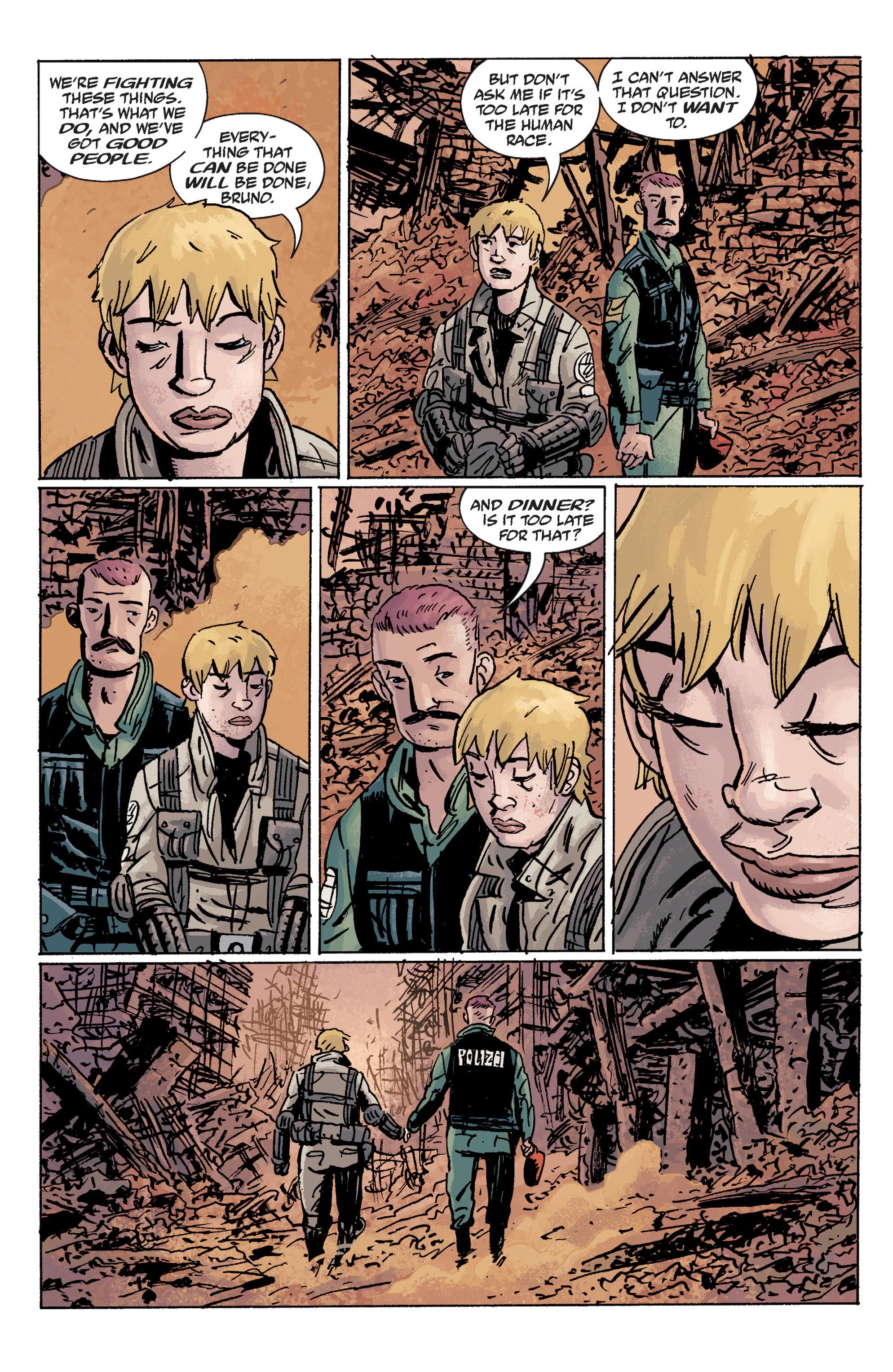 Read online B.P.R.D. (2003) comic -  Issue # TPB 10 - 131