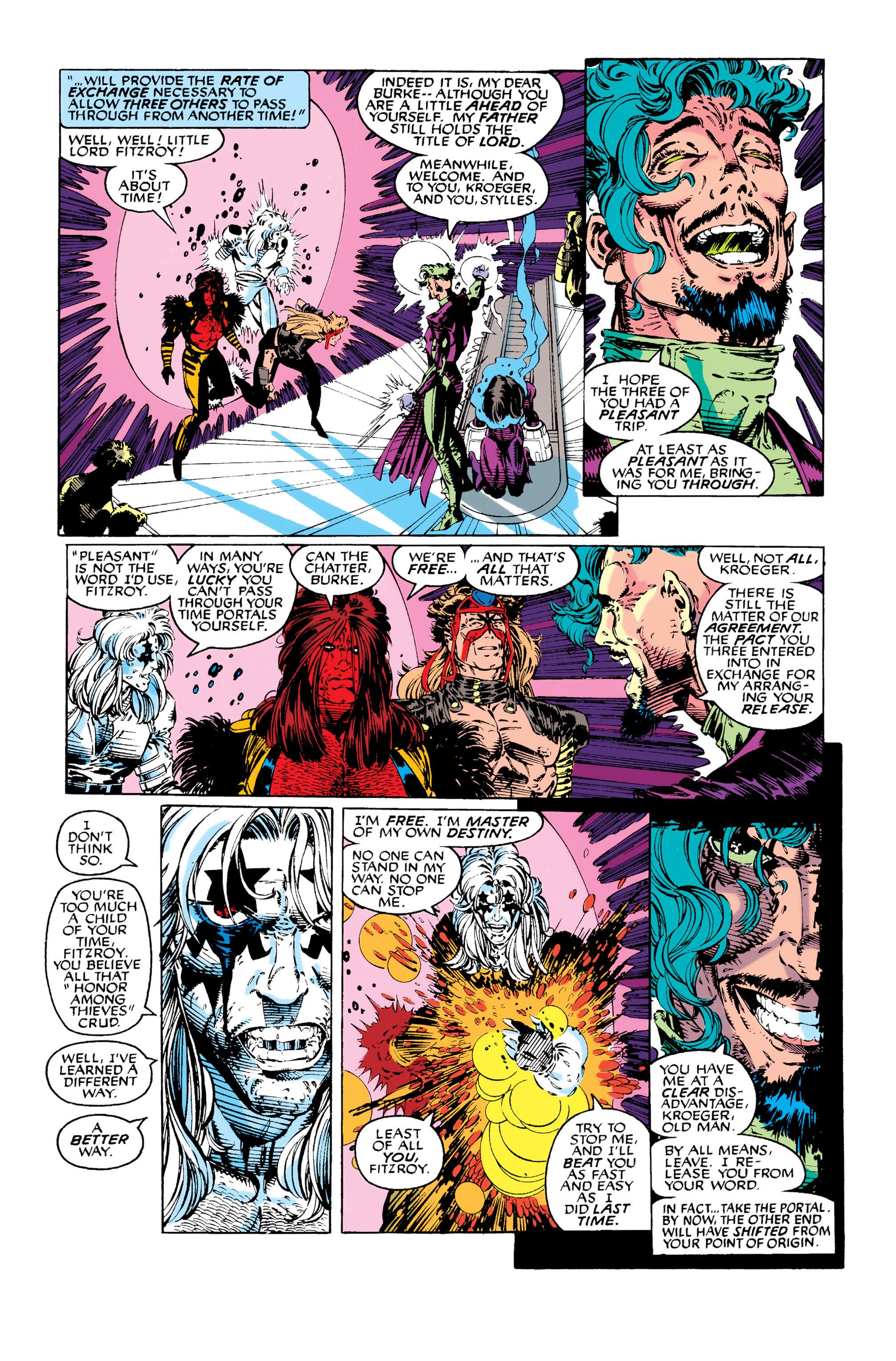 Read online Uncanny X-Men (1963) comic -  Issue #282 - 11