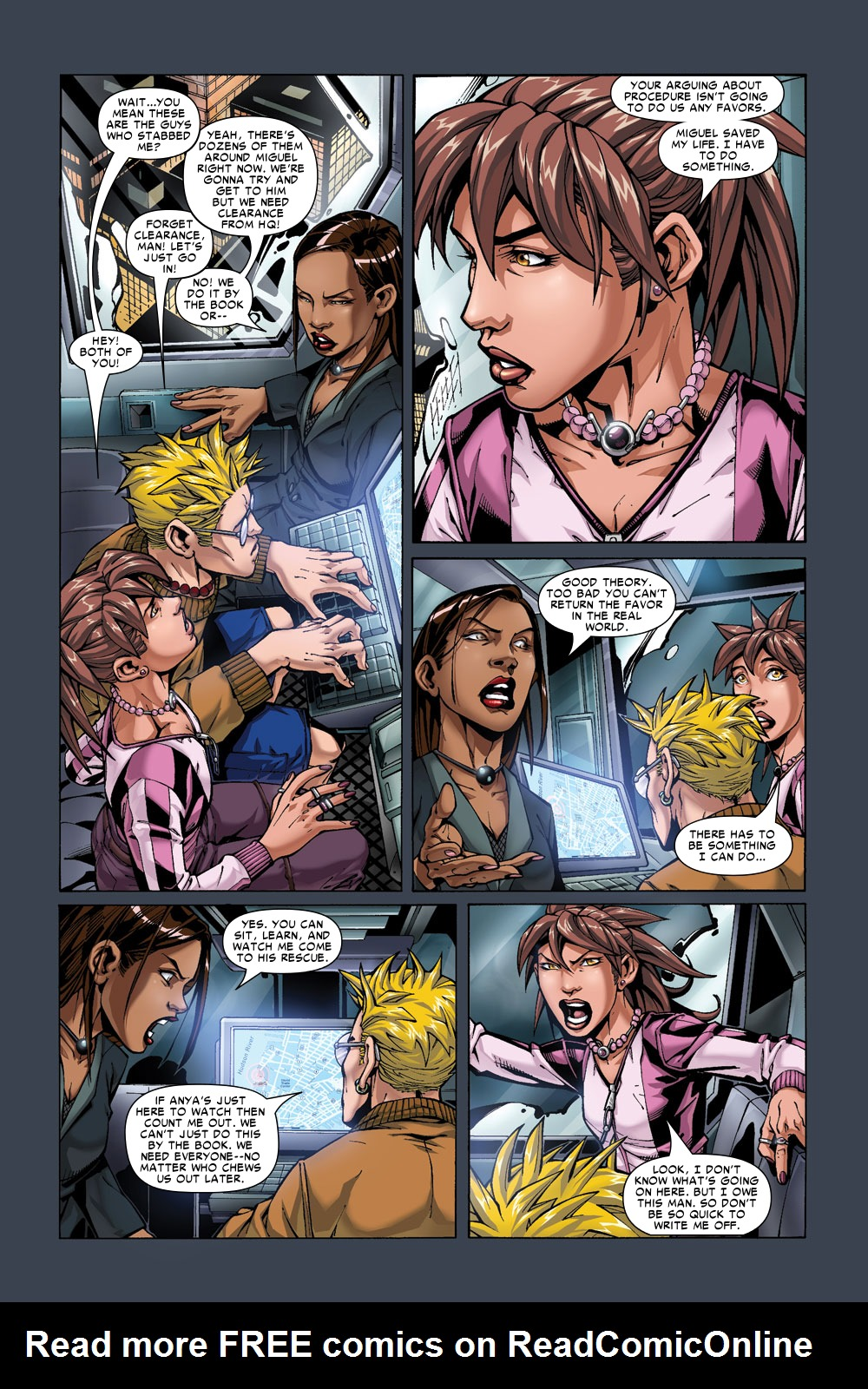 Read online Amazing Fantasy (2004) comic -  Issue #3 - 17