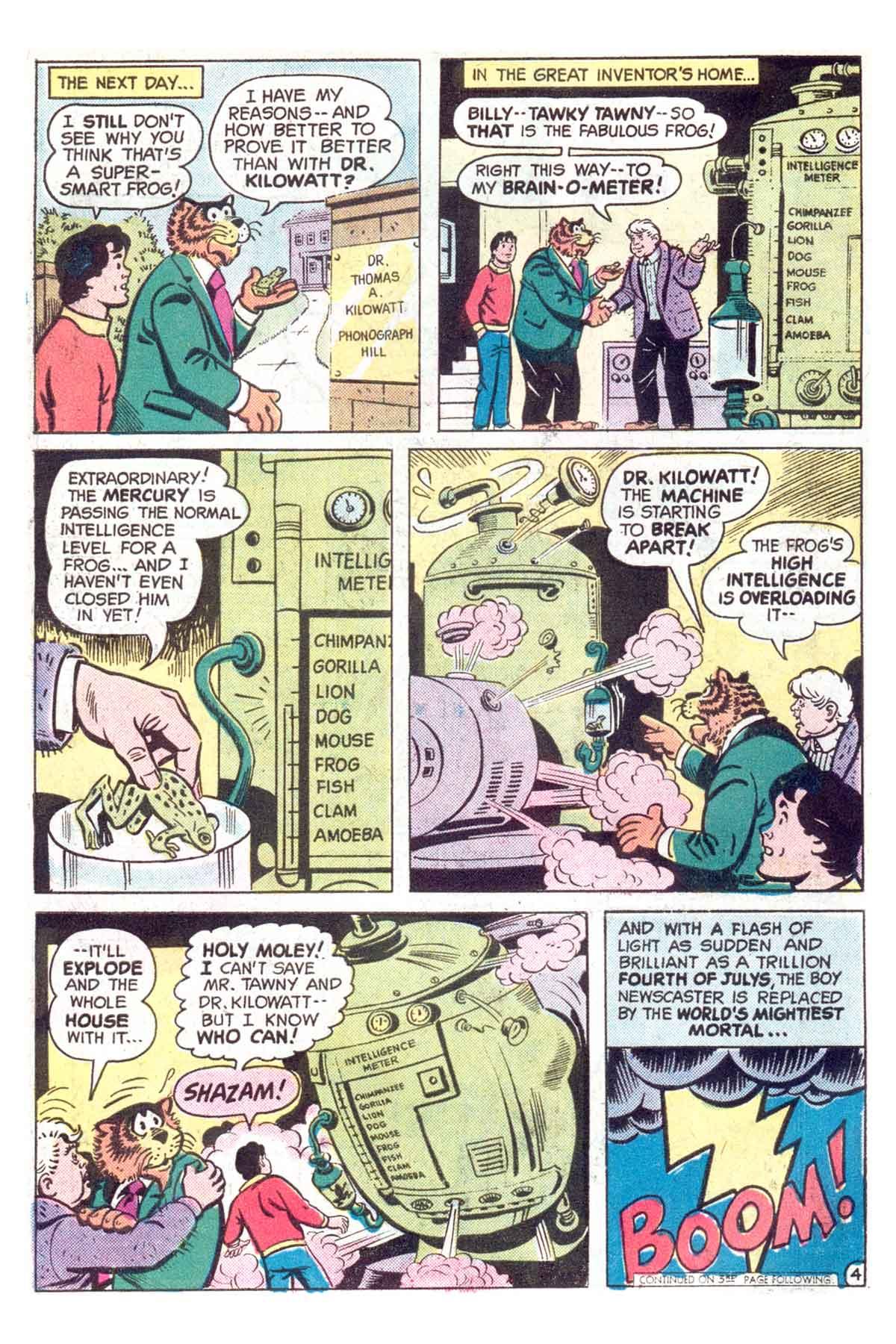 Read online Shazam! (1973) comic -  Issue #18 - 5